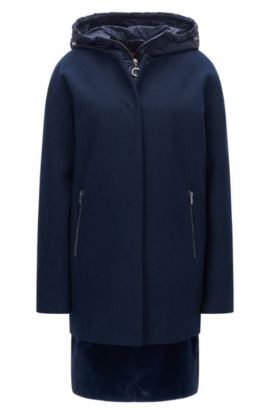 Multi-functional regular-fit jacket, Dark Blue