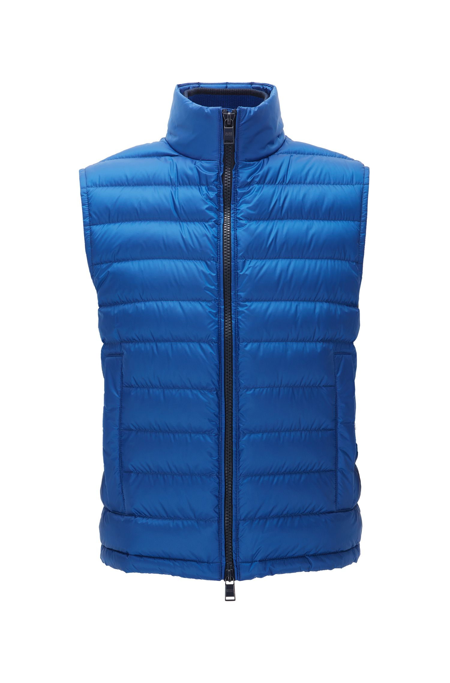 Gilet relaxed fit in tessuto tecnico idrorepellente