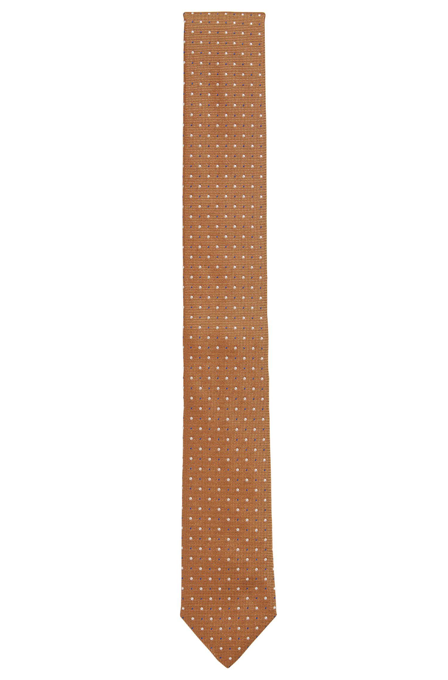 Cravate en pure soie à motif