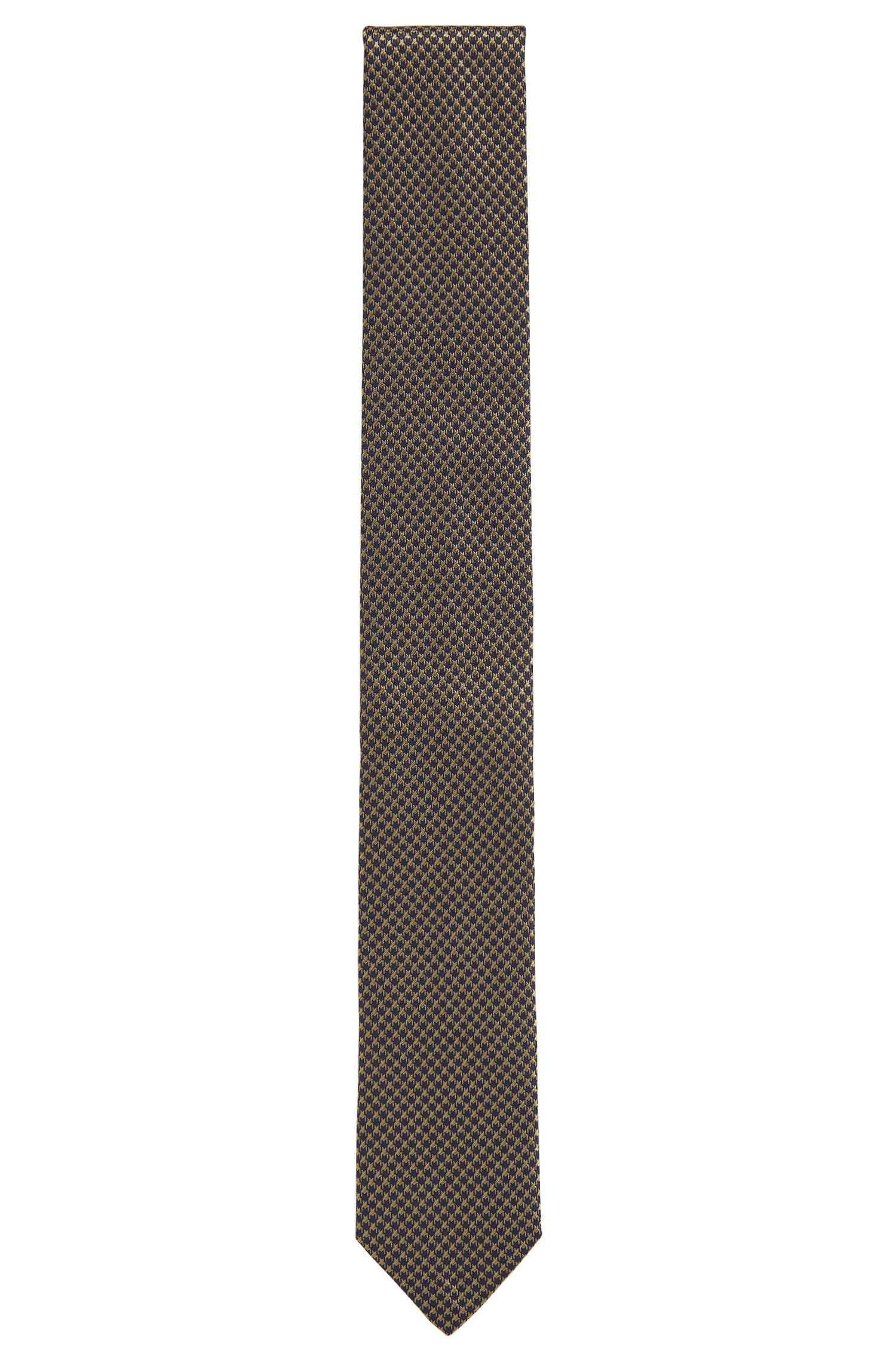 Cravatta in pura seta a disegni