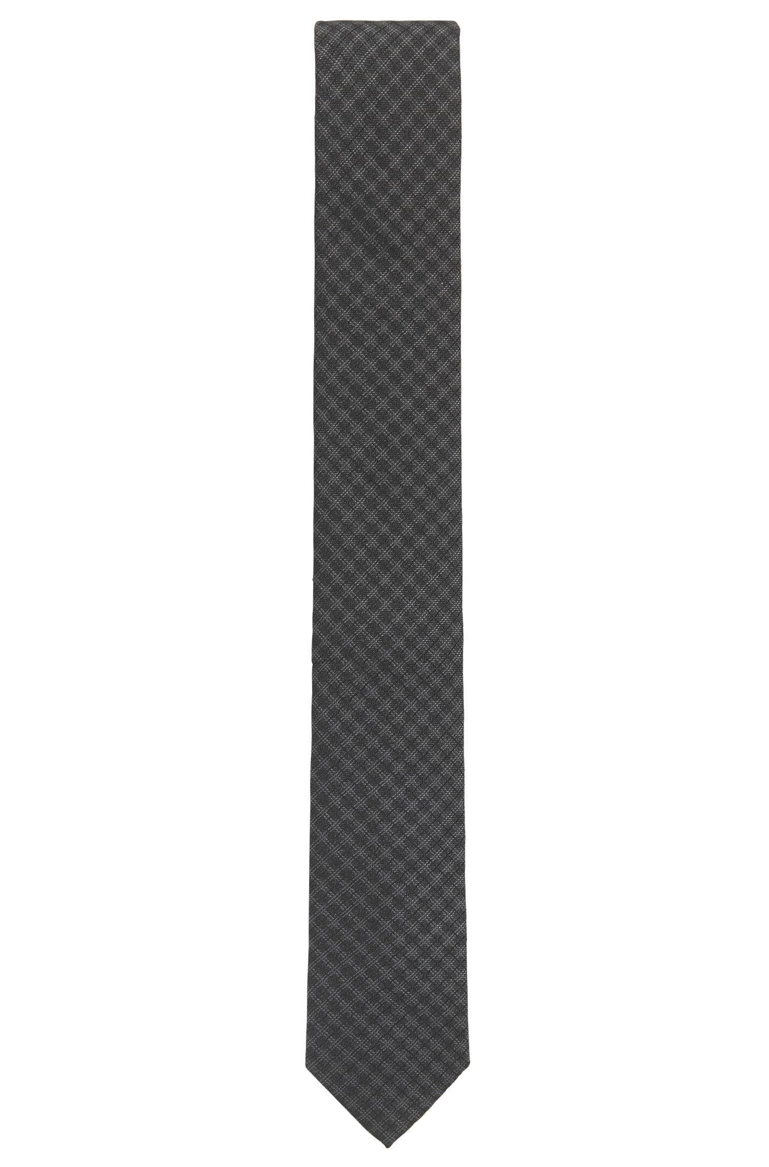 Cravatta jacquard a disegni in seta