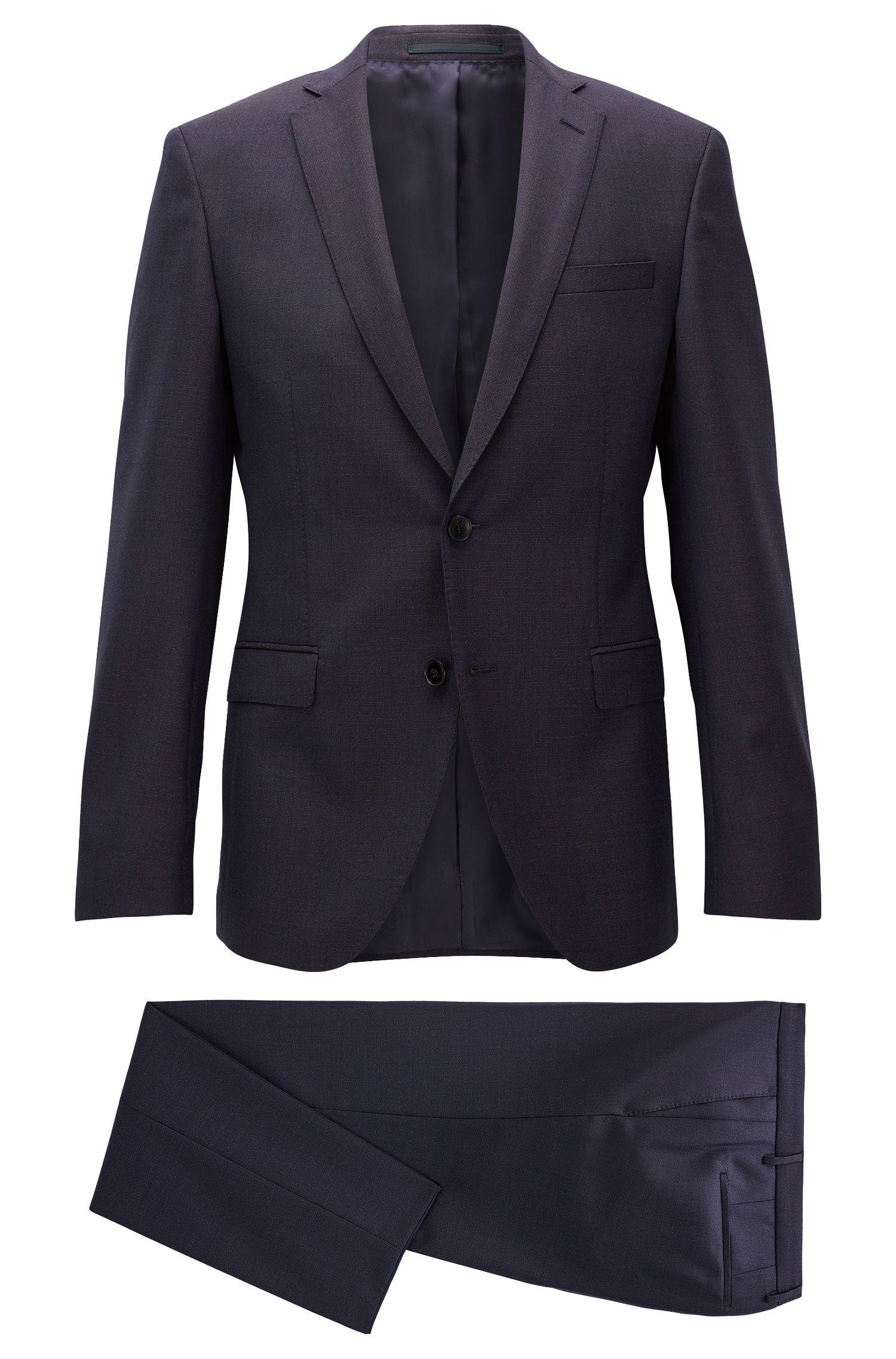 Extra-Slim-Fit-Anzug aus Schurwolle