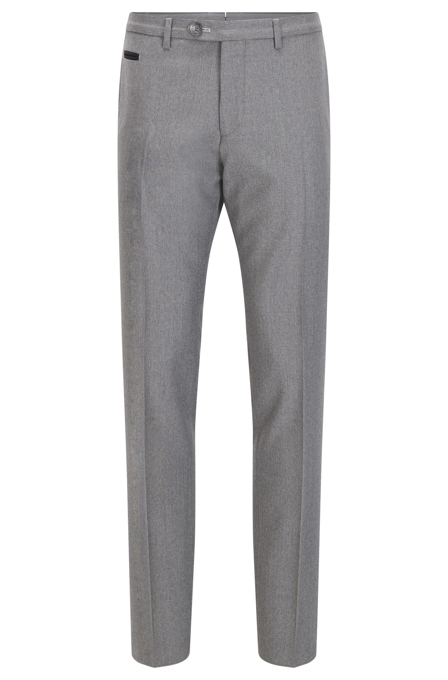 Extra-slim-fit trousers in virgin wool