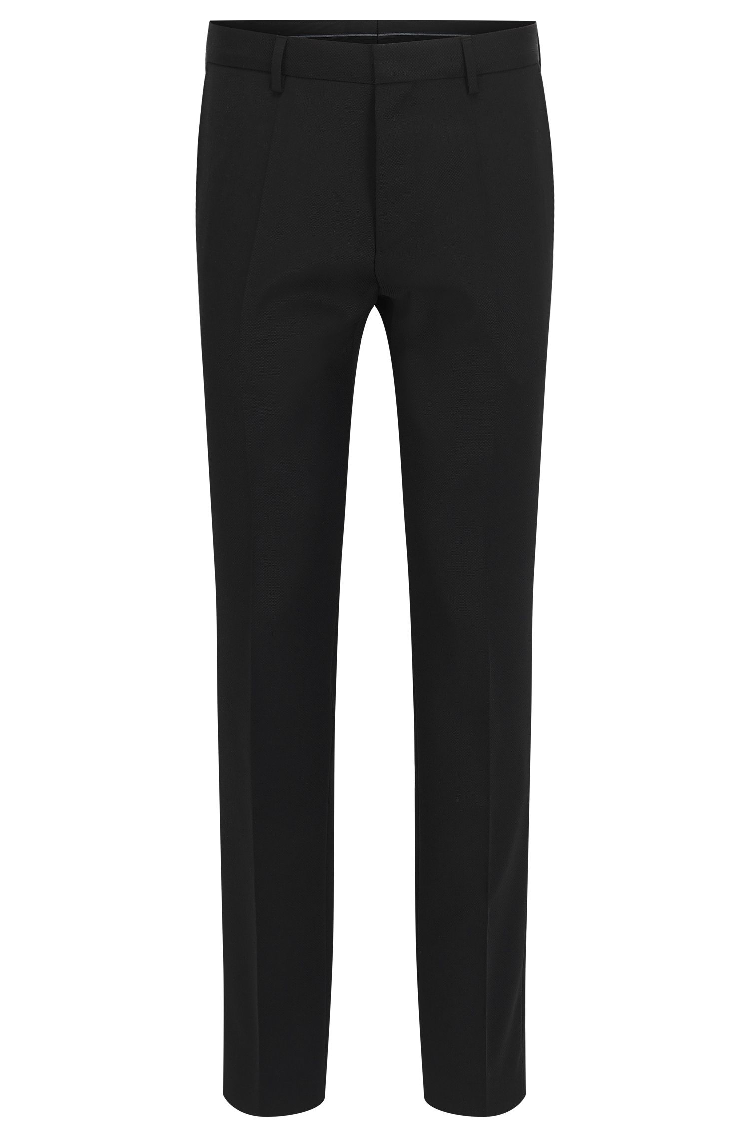 Slim-Fit Hose aus Schurwolle