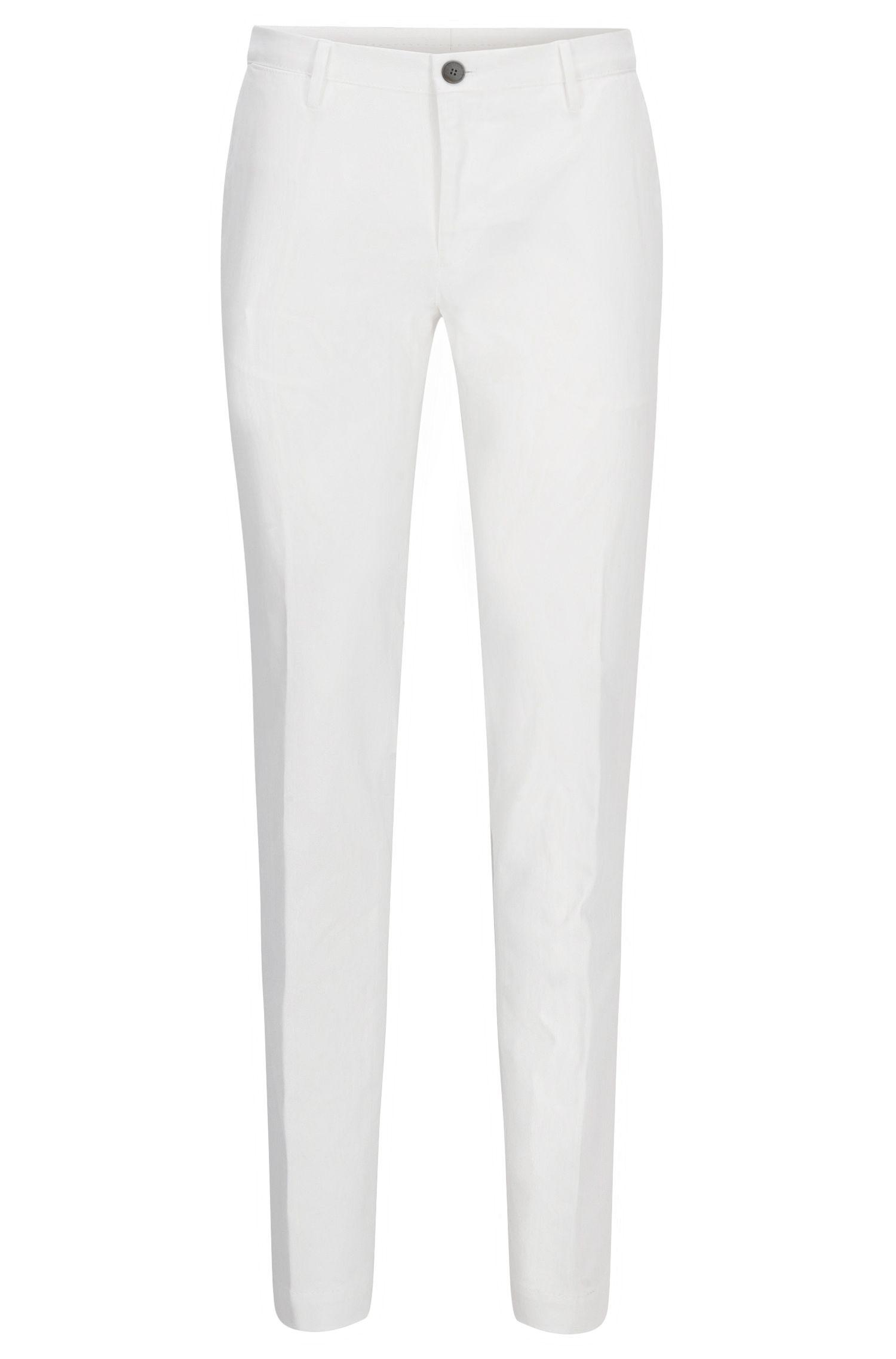 Chino slim fit in cotone elasticizzato