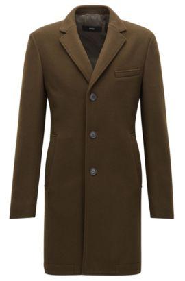 Abrigo slim fit en mezcla de lana , Cal