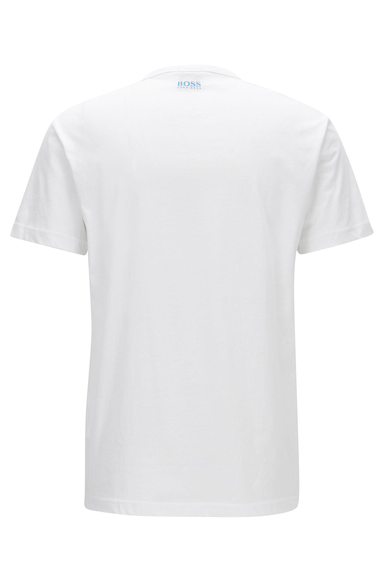Cotton logo T-shirt in a regular fit