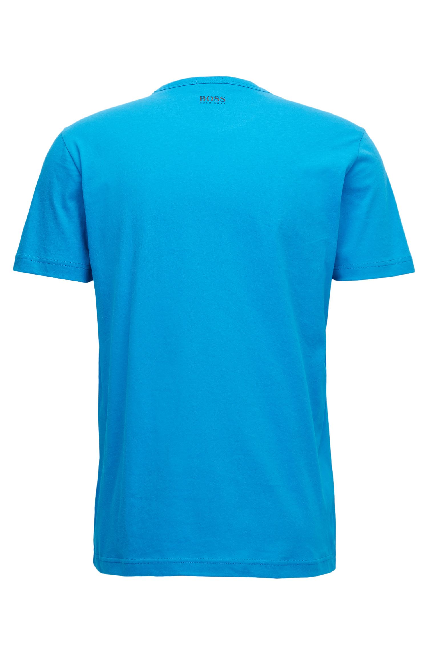 Regular-Fit T-Shirt aus Baumwolle mit Logo