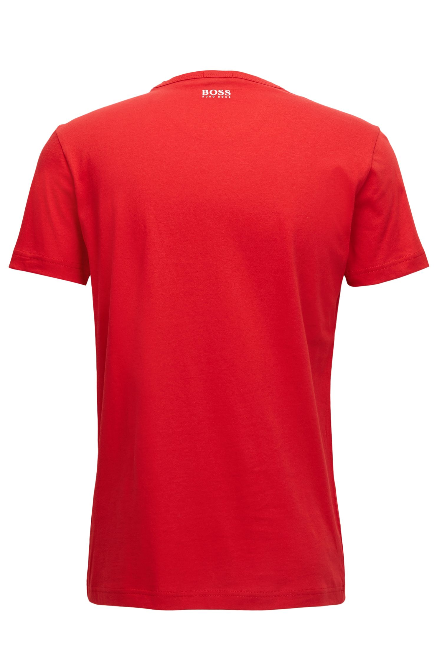 Cotton logo T-shirt in a regular fit