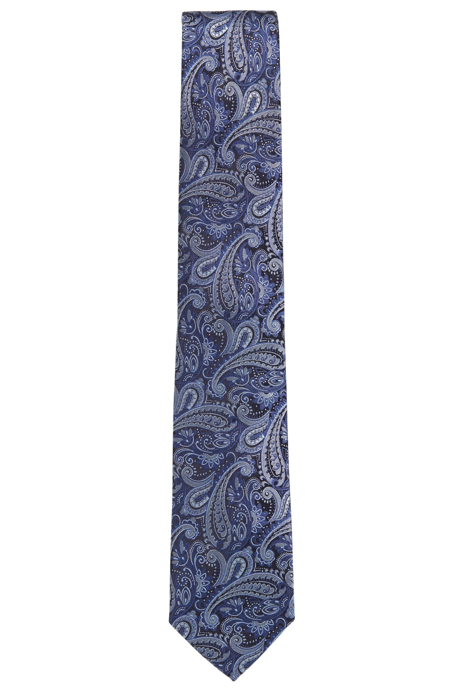 Krawatte aus Seiden-Jacquard mit Paisley-Muster