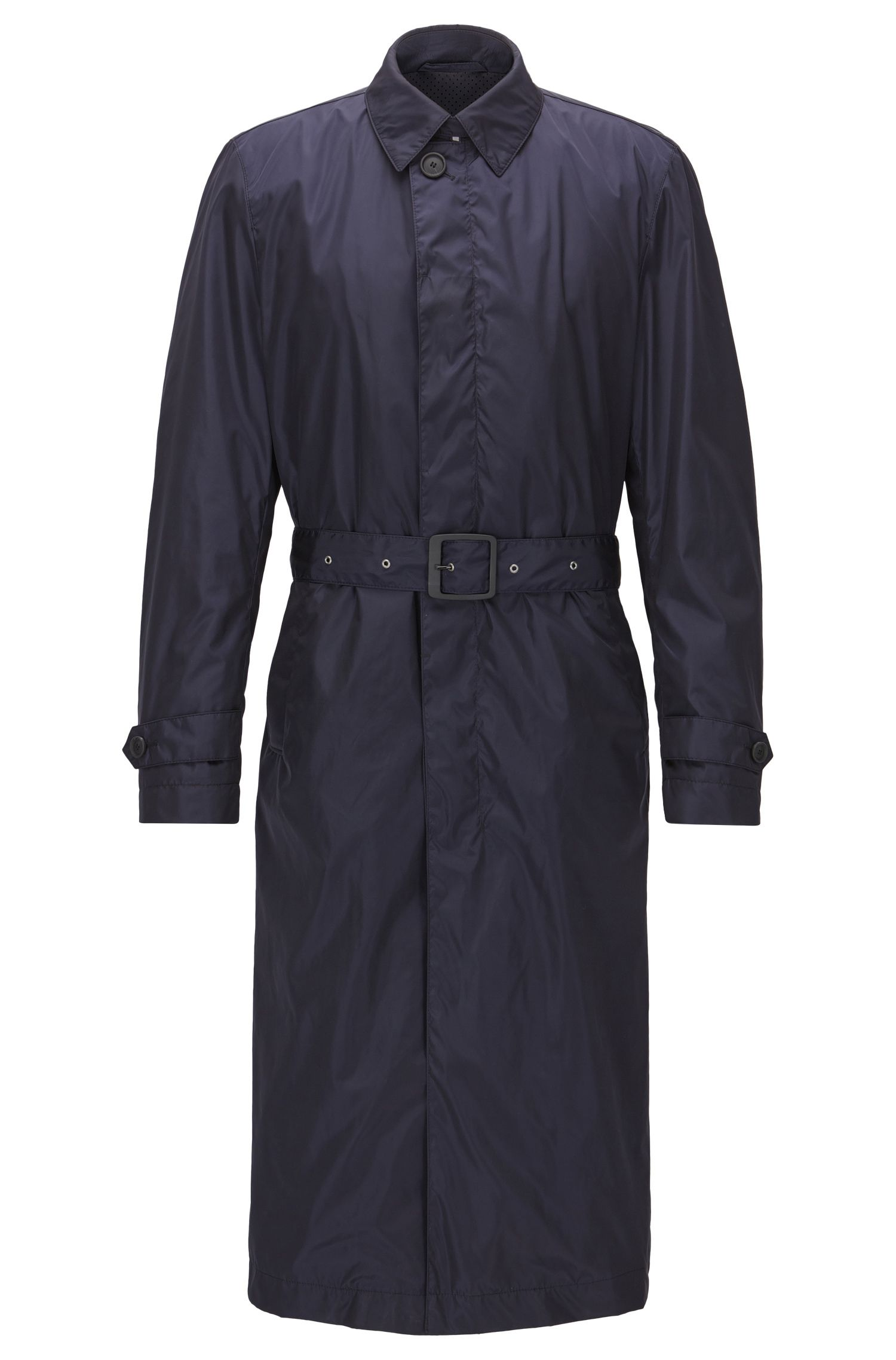 Water-repellent trench coat in a regular fit