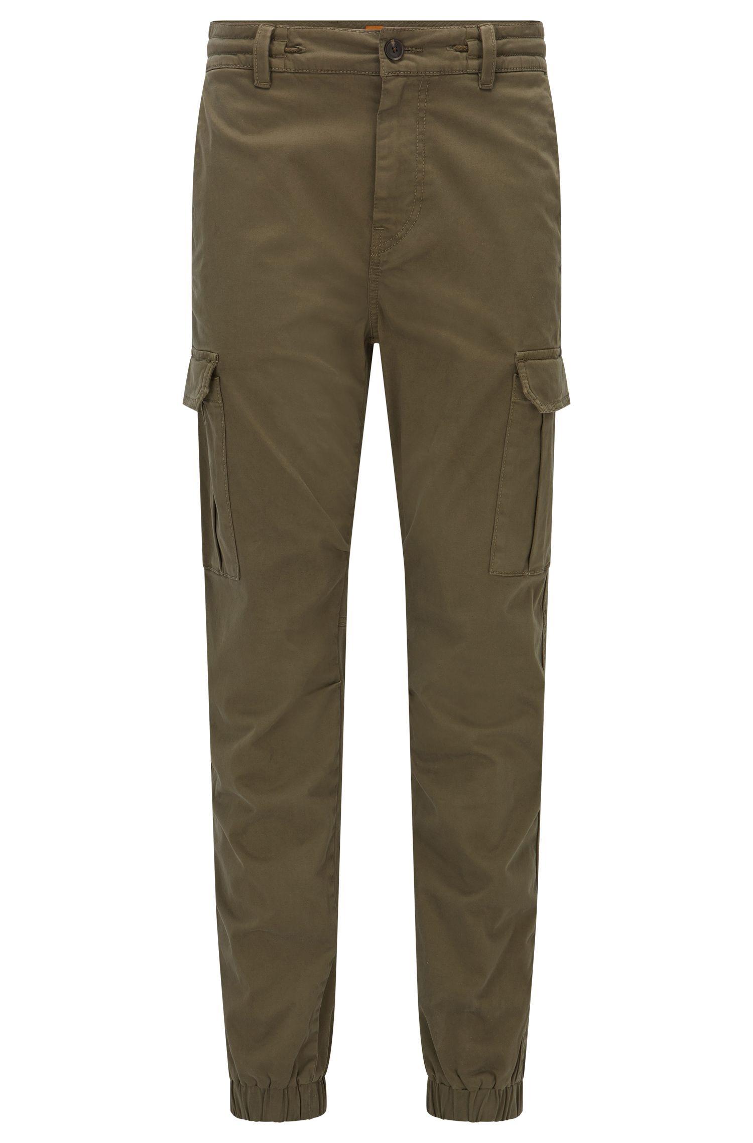Tapered-Fit-Cargo-Hose aus Stretch-Baumwolle