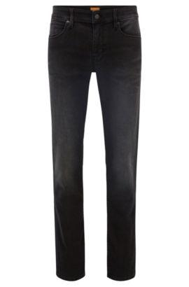 Slim-fit jeans van super-stretchdenim, Zwart