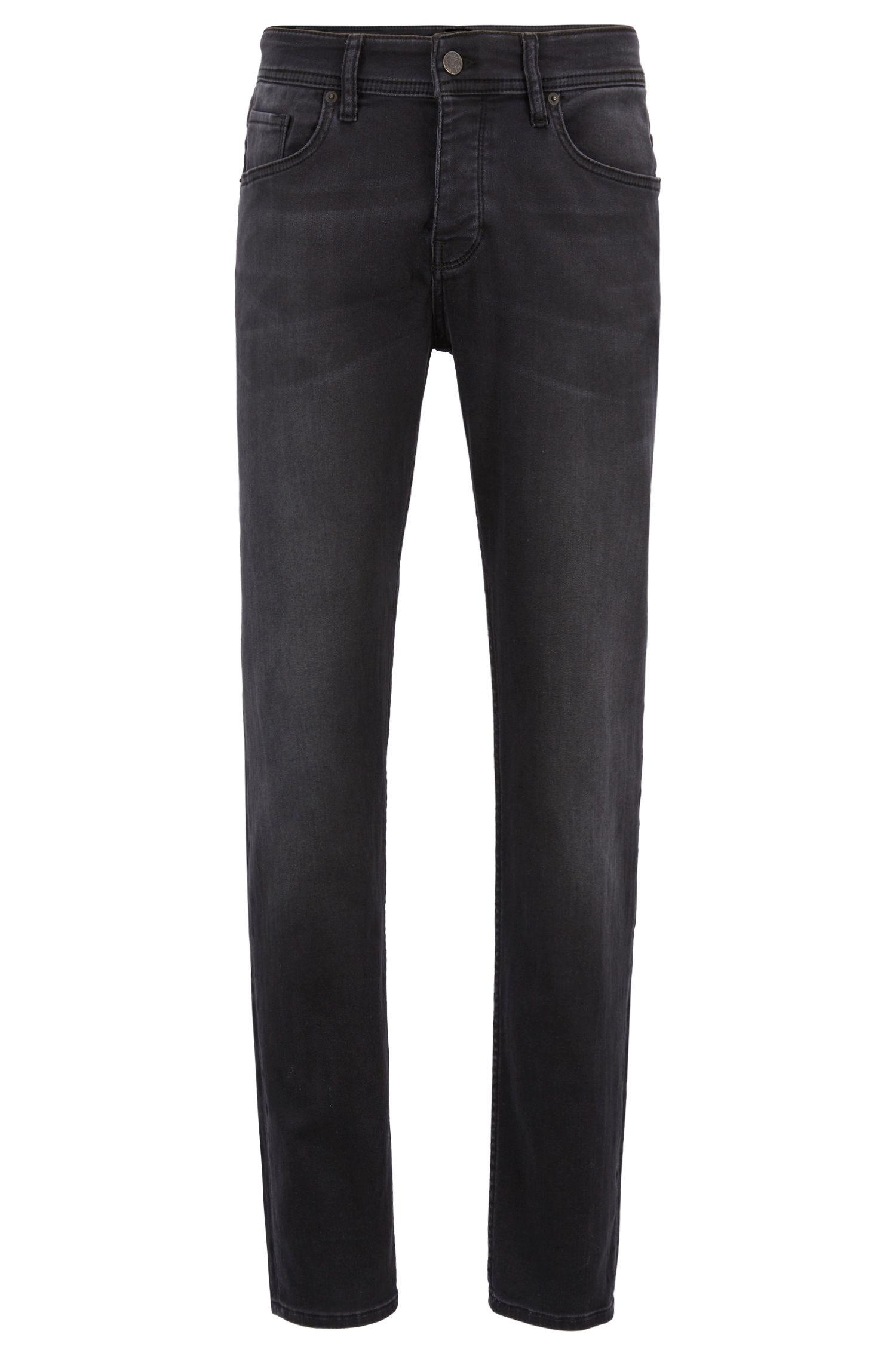 Tapered-fit jeans van super-stretchdenim