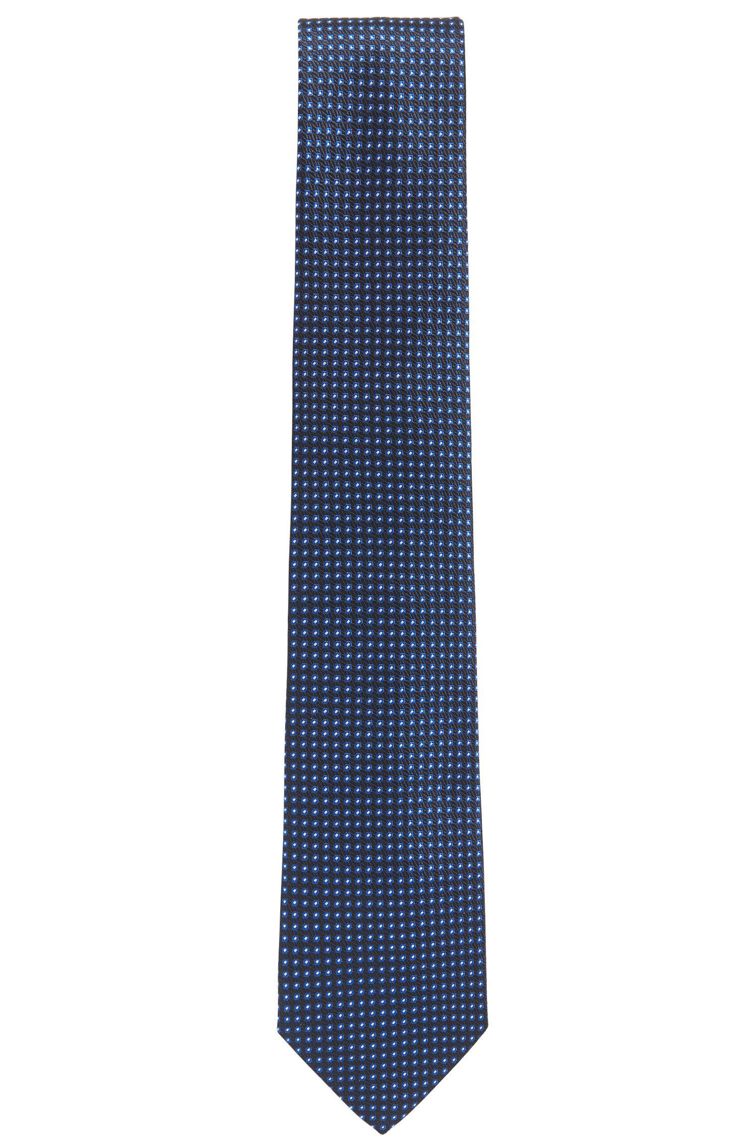 Gemusterte Krawatte aus Seiden-Jacquard
