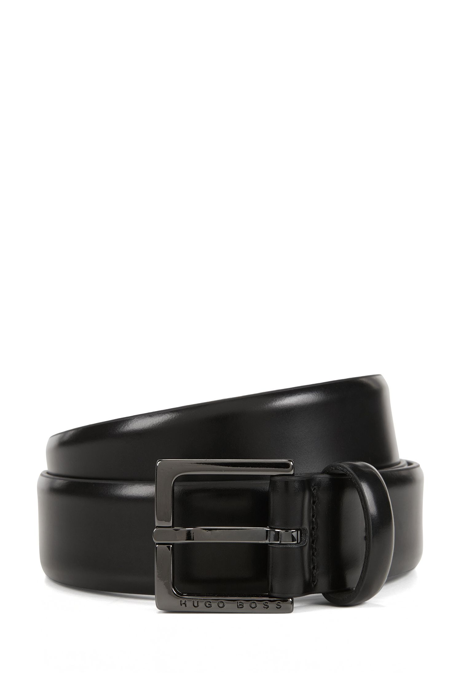 Chino belt in brush-off leather
