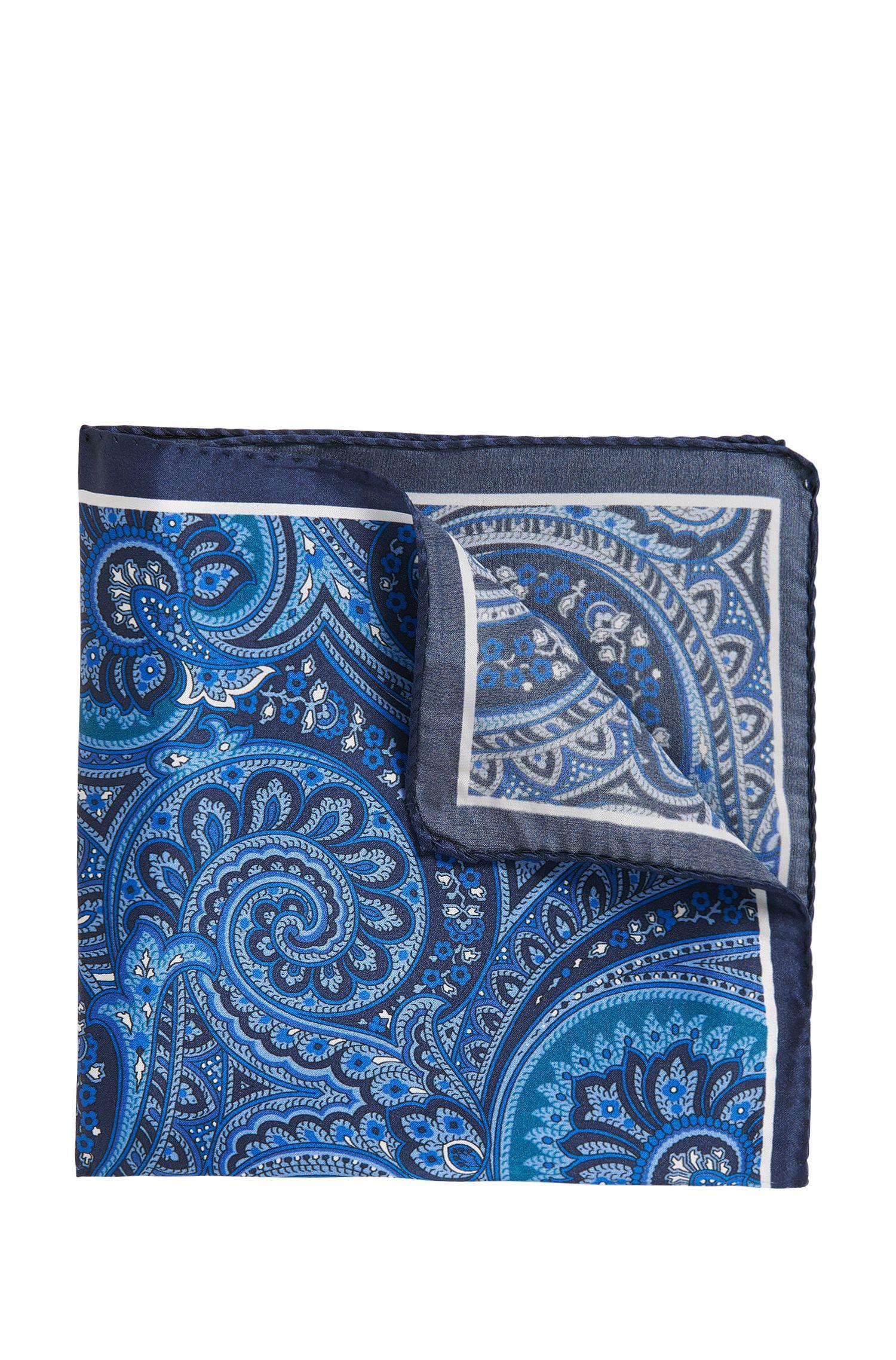 Paisley-pochet van luxueuze zijde