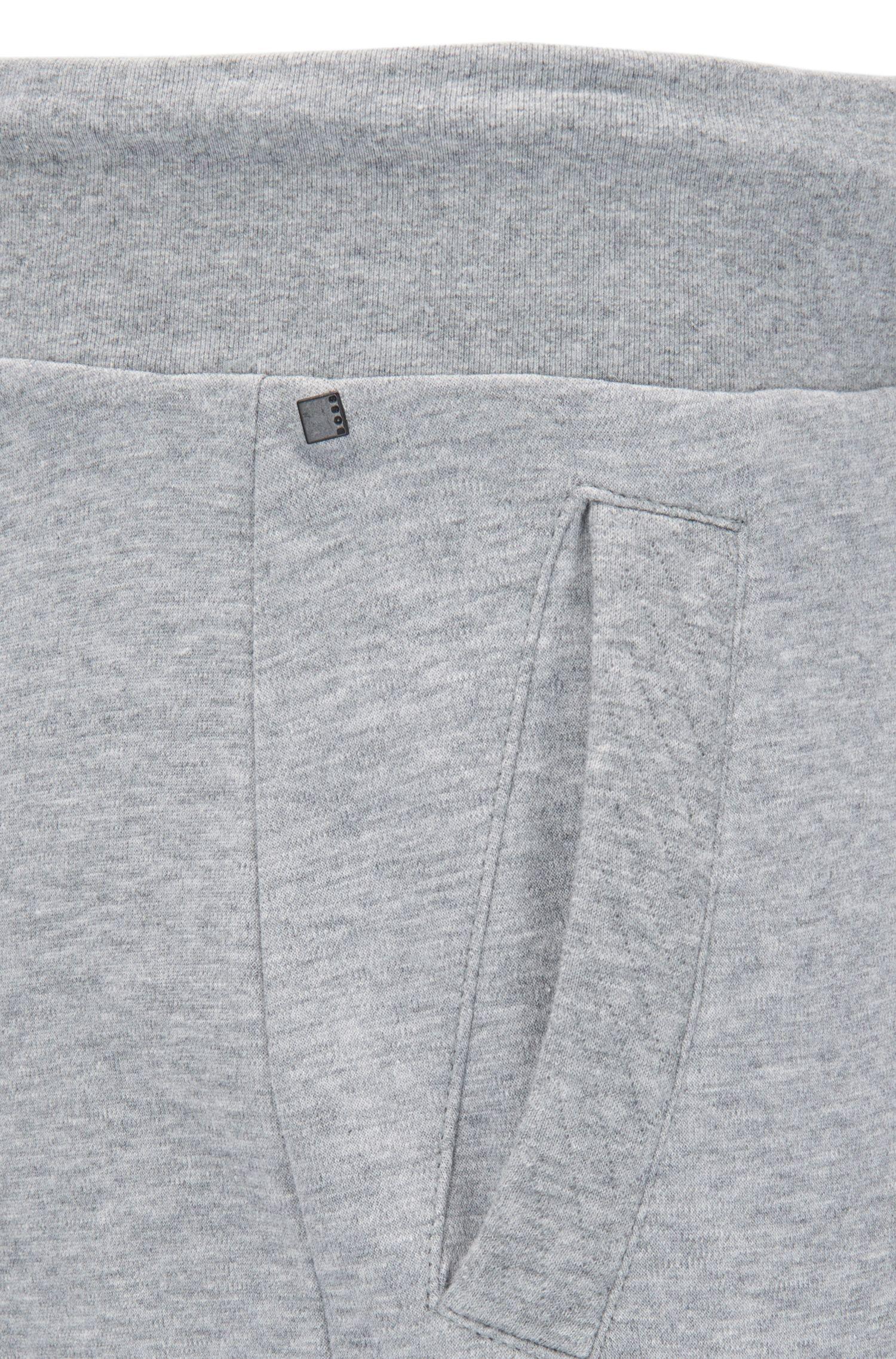 Pantalones de chándal con cordón en puro algodón