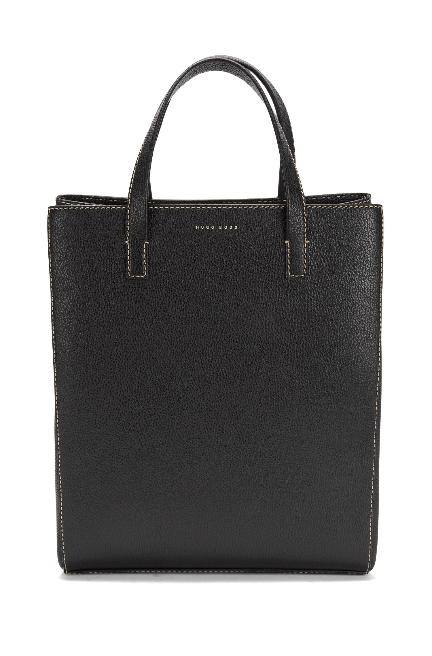 BOSS Bespoke Soft tote bag in Italian leather