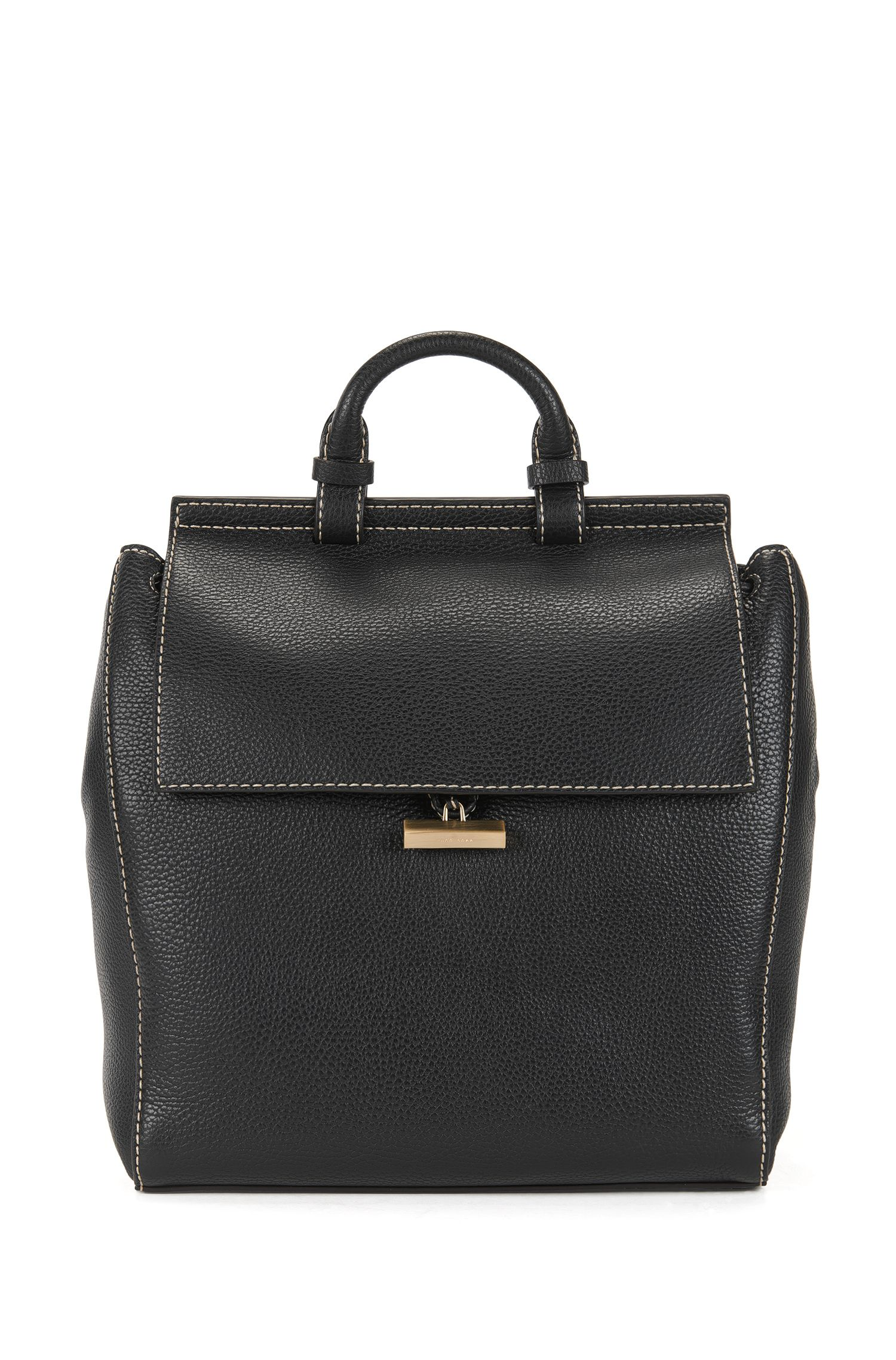 BOSS Bespoke backpack in Italian leather