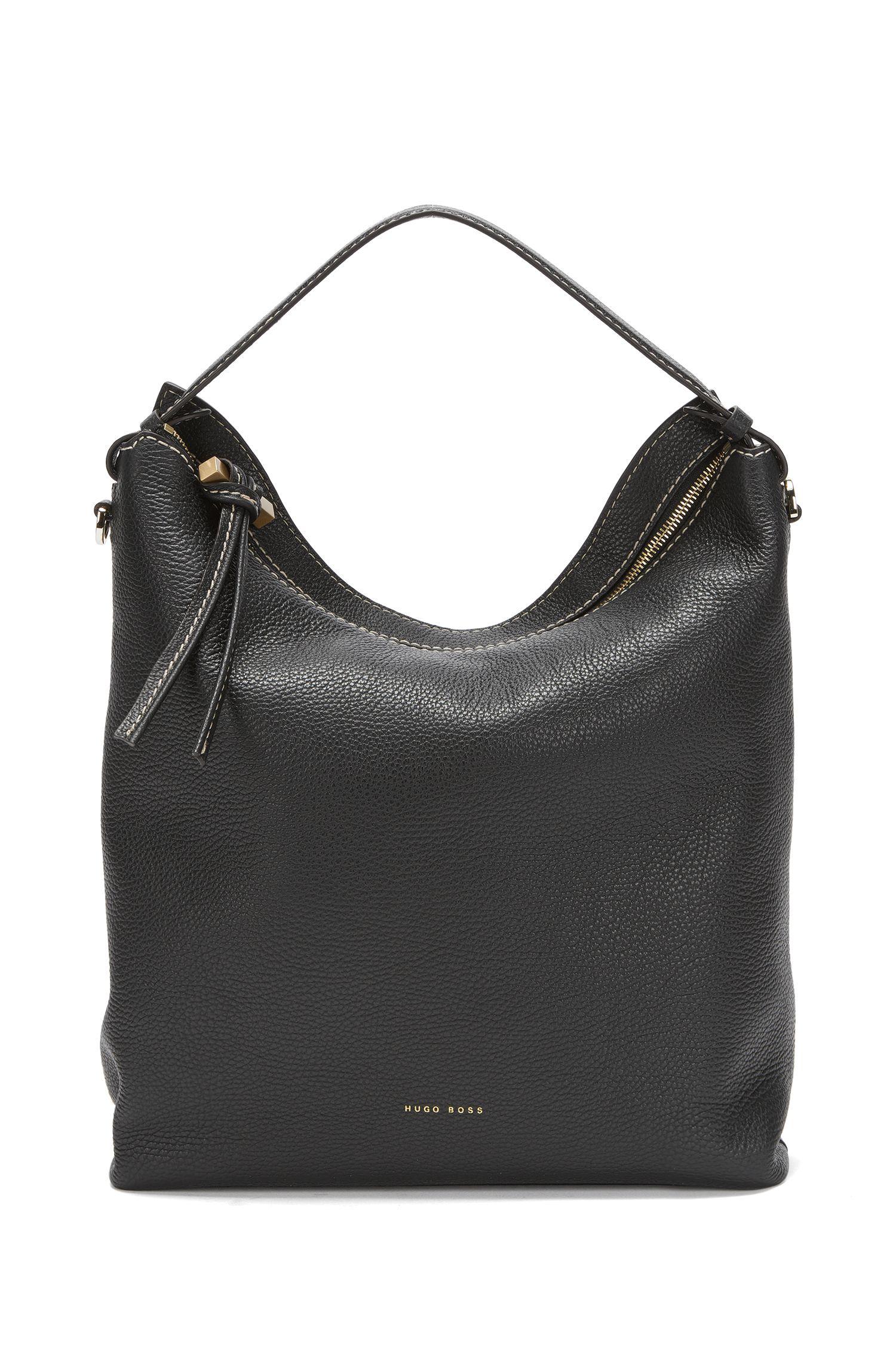 BOSS Bespoke Hobo Bag aus italienischem Leder