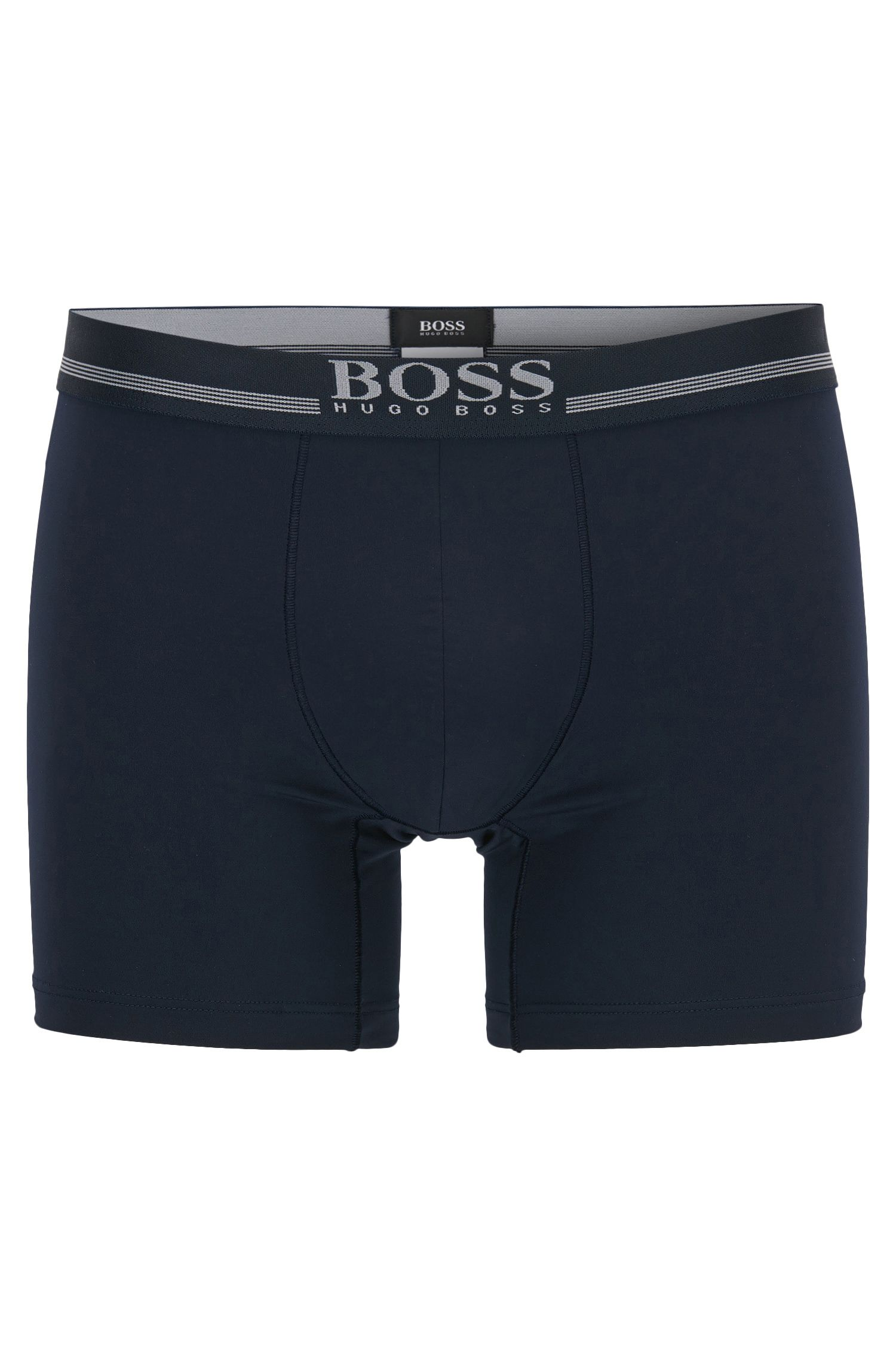 Boxer briefs in four-way-stretch microfibre