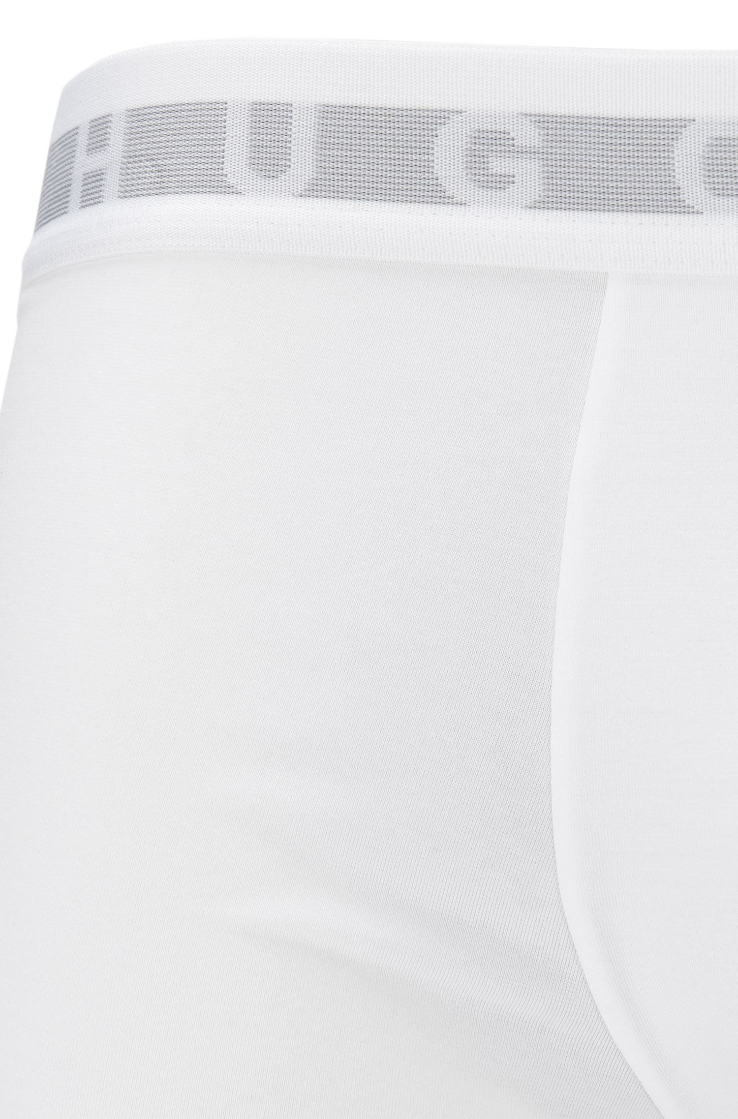 Trunks in a COOLMAX® cotton blend, White