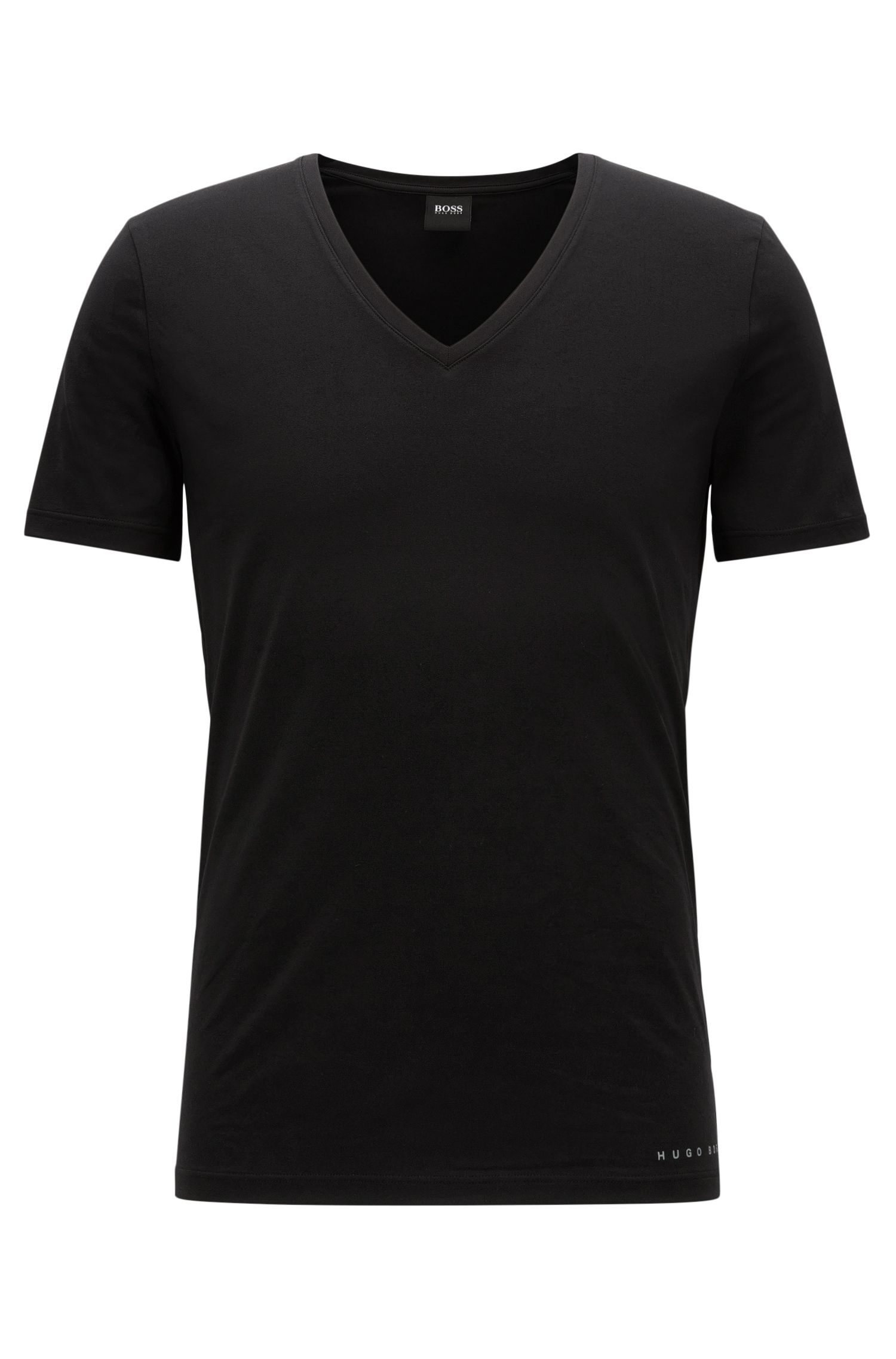 Slim-Fit T-Shirt aus Baumwoll-Mix mit COOLMAX®-Technologie