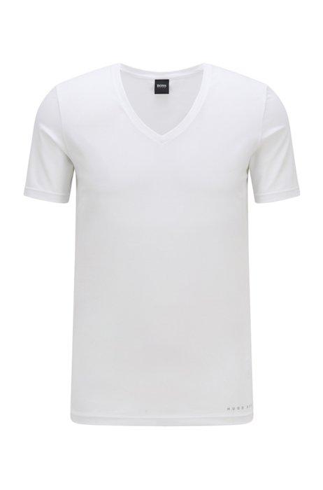 Slim-Fit T-Shirt mit Coolmax®-Finish, Weiß