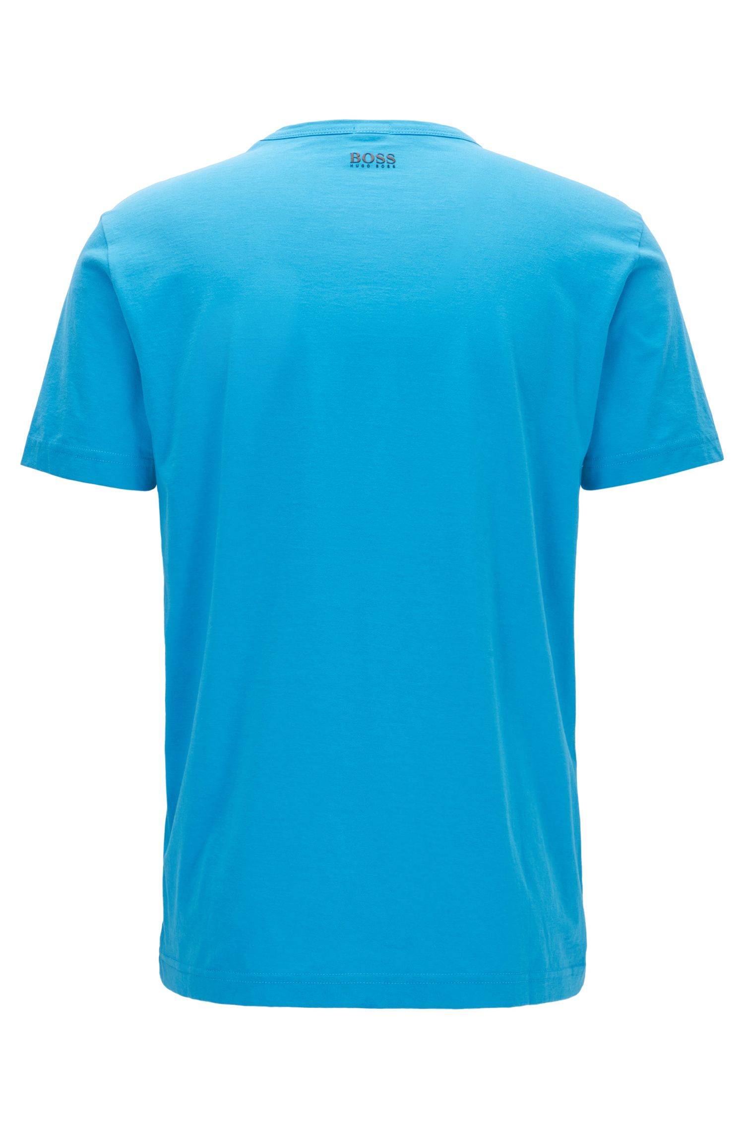 T-shirt regular fit in puro cotone con logo