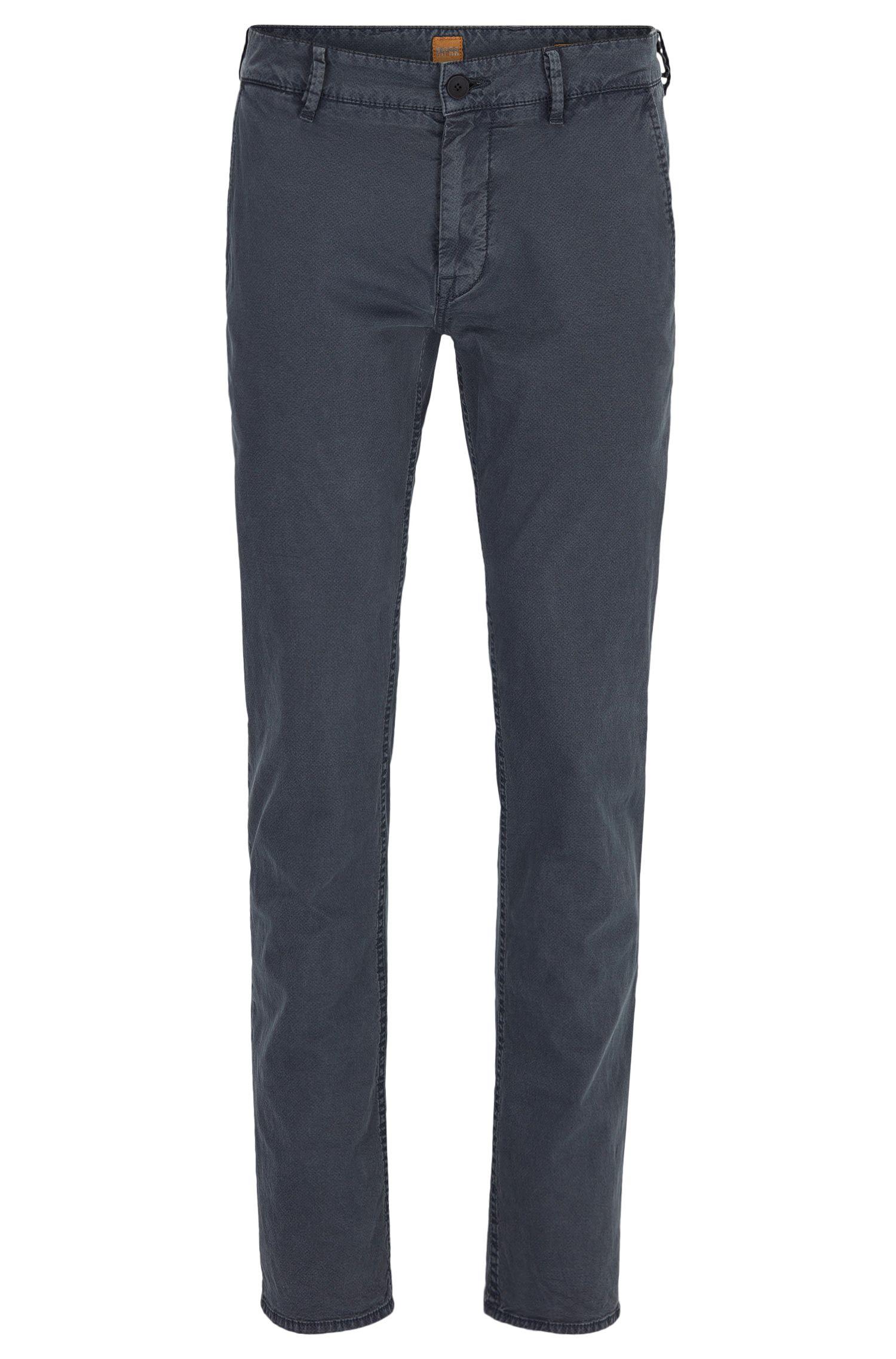 Pantalon Slim Fit en coton italien stretch