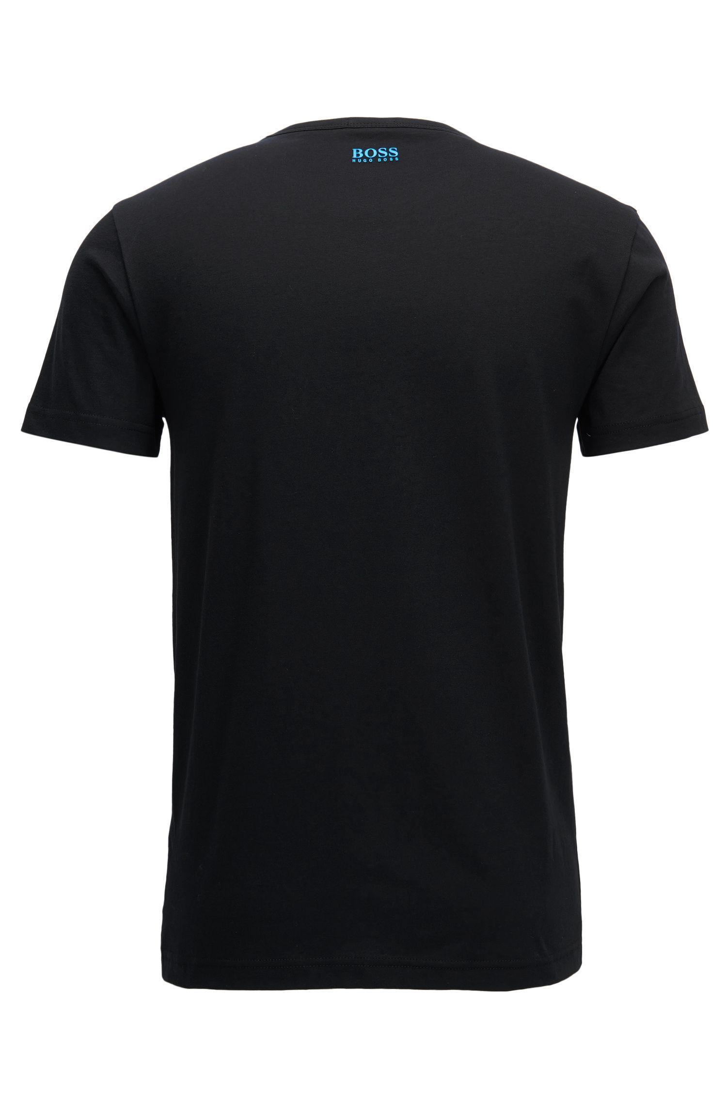 T-shirt Regular Fit en coton orné du logo