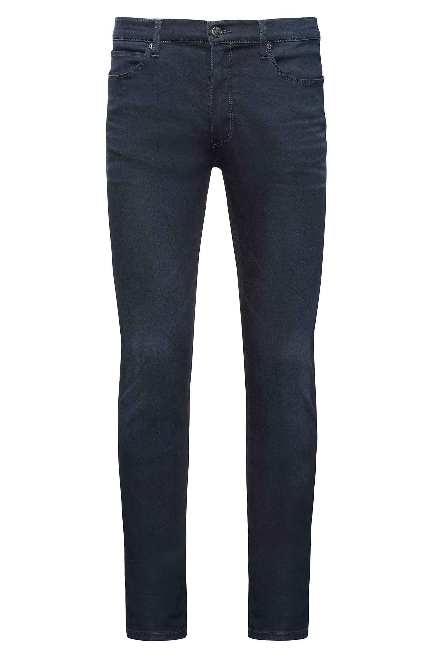 Skinny-Fit Jeans aus komfortablem Stretch Denim