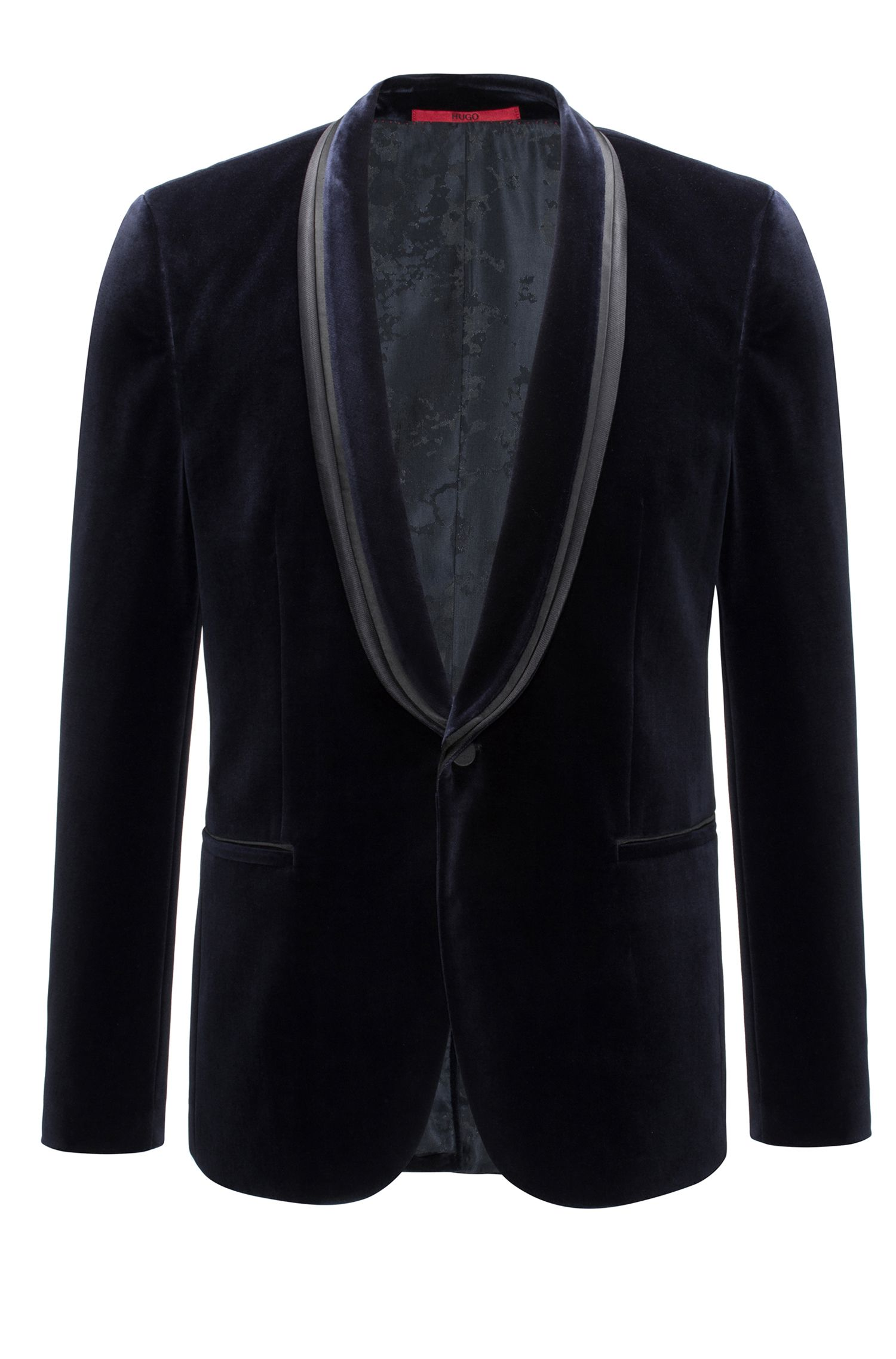 Cotton jacket in an extra-slim fit