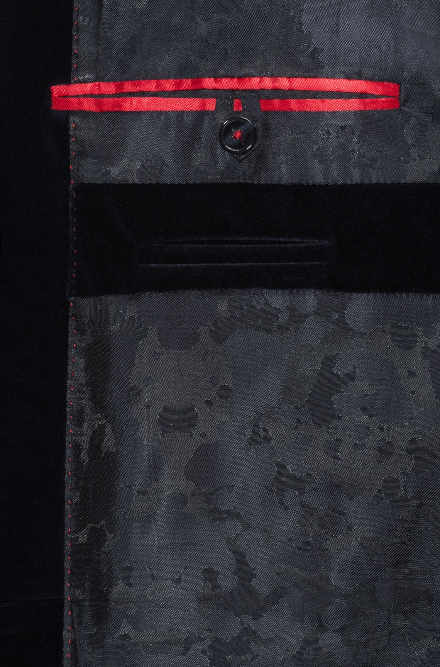 Extra Slim-Fit Sakko aus Baumwolle