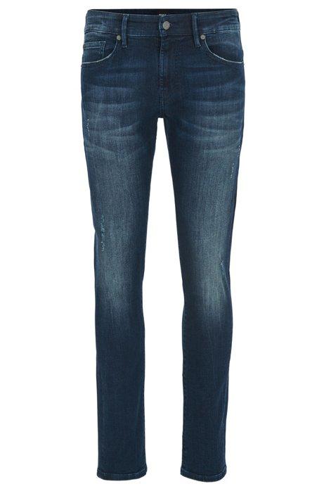 HUGO BOSS Jean Skinny Fit super stretch de couleur indigo profond CDn8wTh