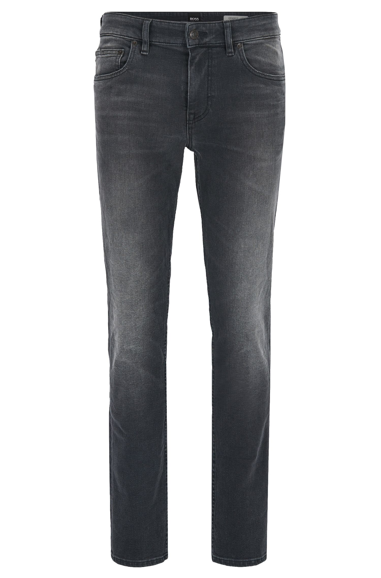 Slim-Fit Jeans aus komfortablem Stretch-Denim mit Waschung