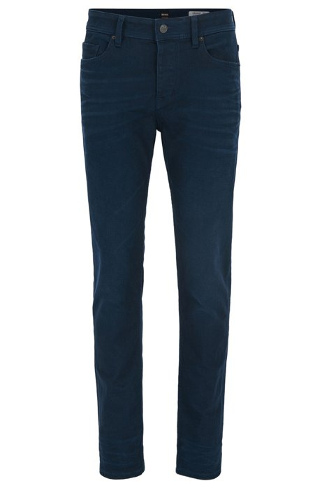 Double-indigo stretch-denim tapered jeans BOSS With Paypal Cheap Online Free Shipping Explore txo2rEY