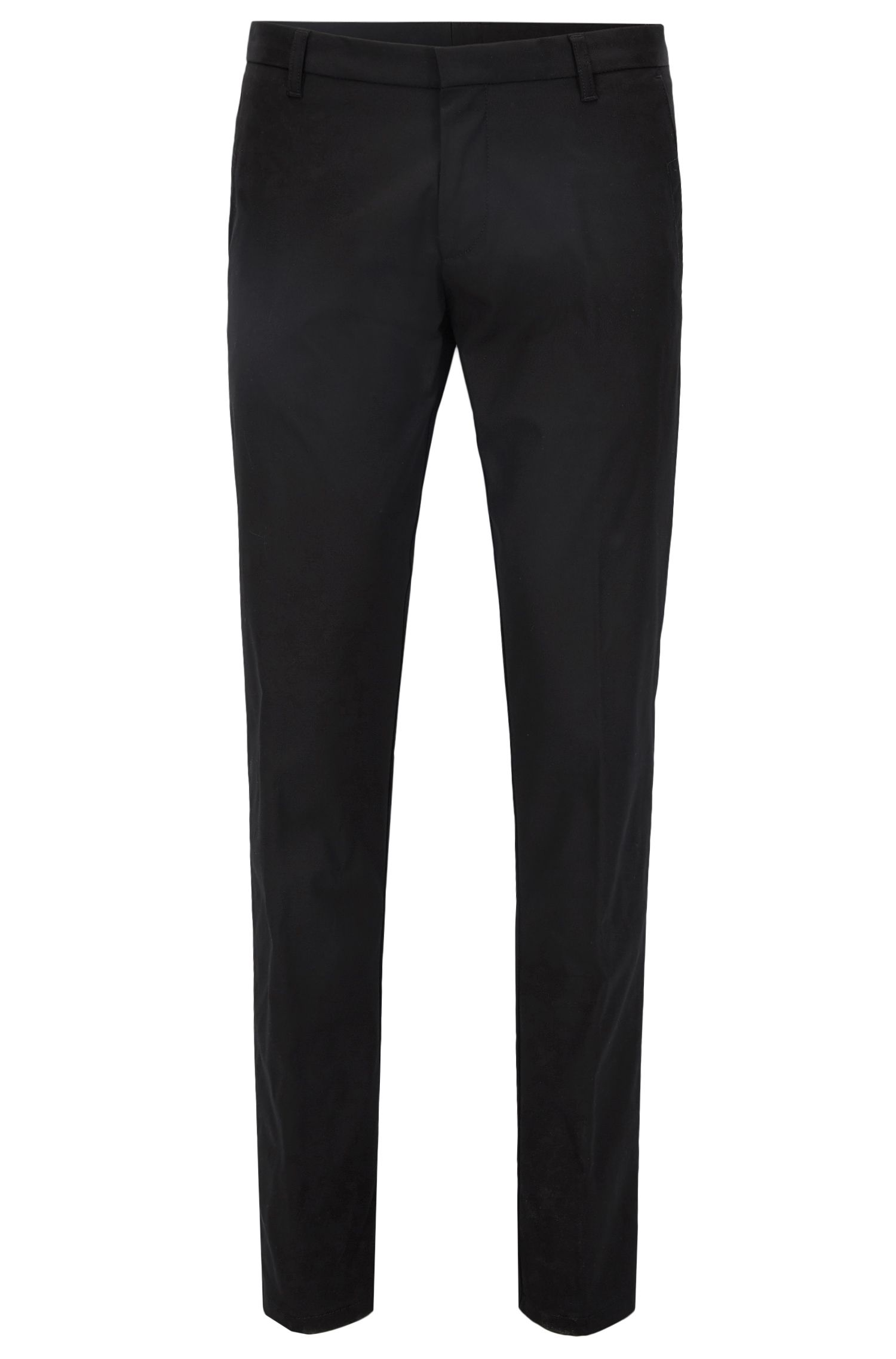 Pantaloni extra slim fit in cotone Pima