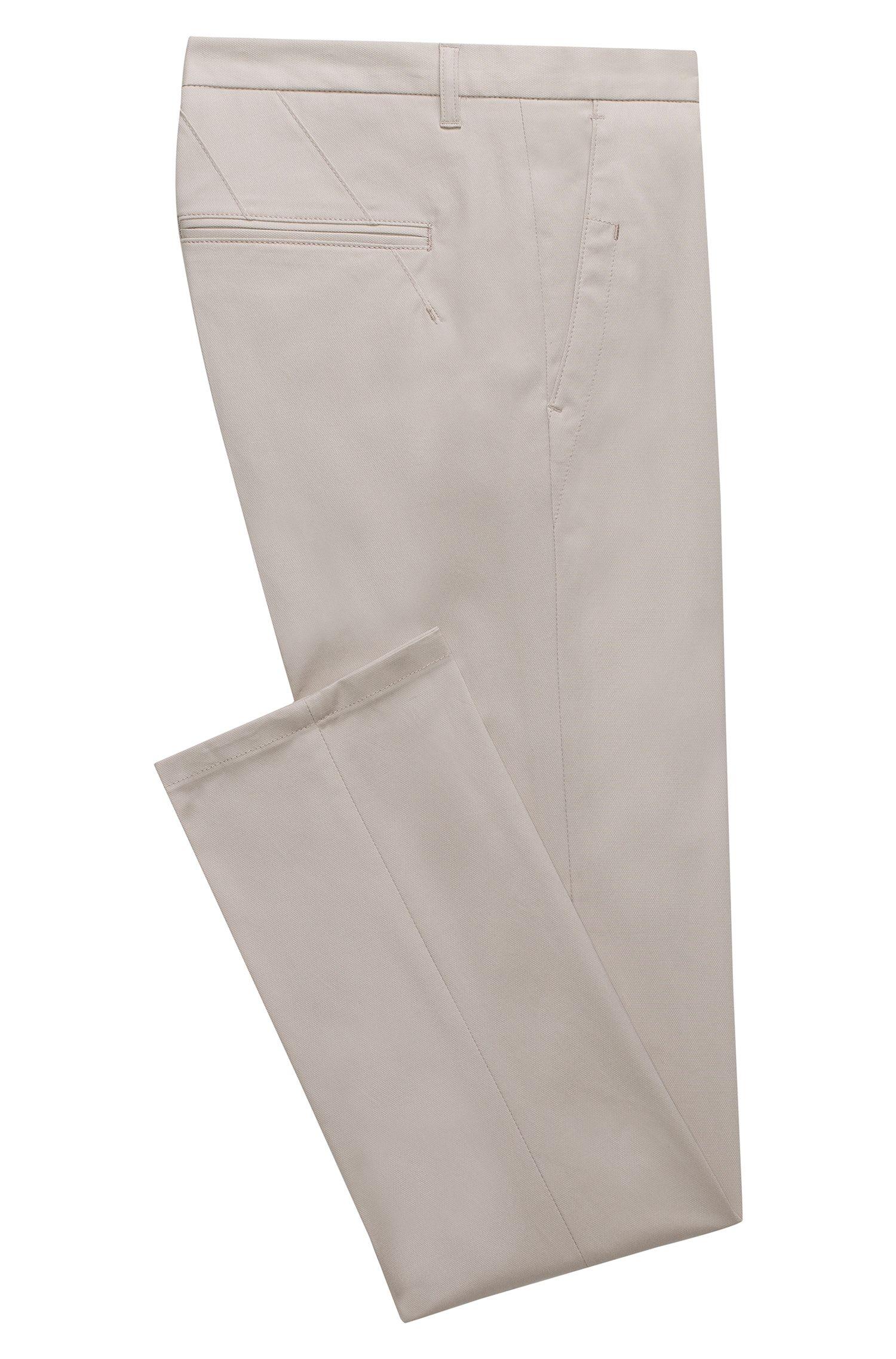 Pantaloni extra slim fit in cotone Pima