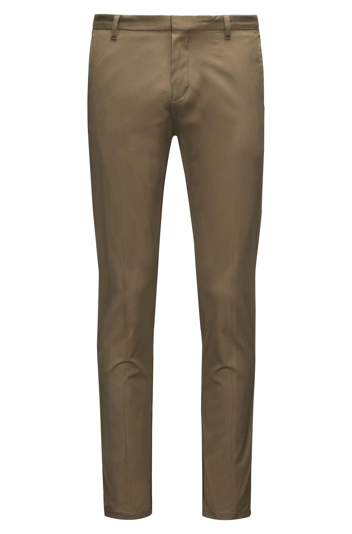 Extra Slim-Fit Hose aus elastischer Pima-Baumwolle