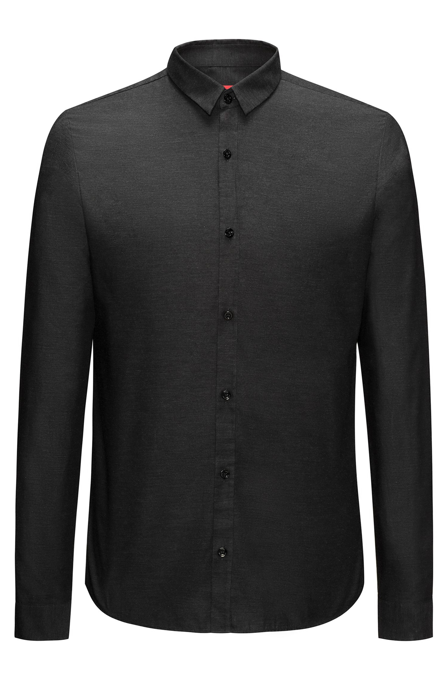 Extra-slim-fit Oxford-cotton shirt