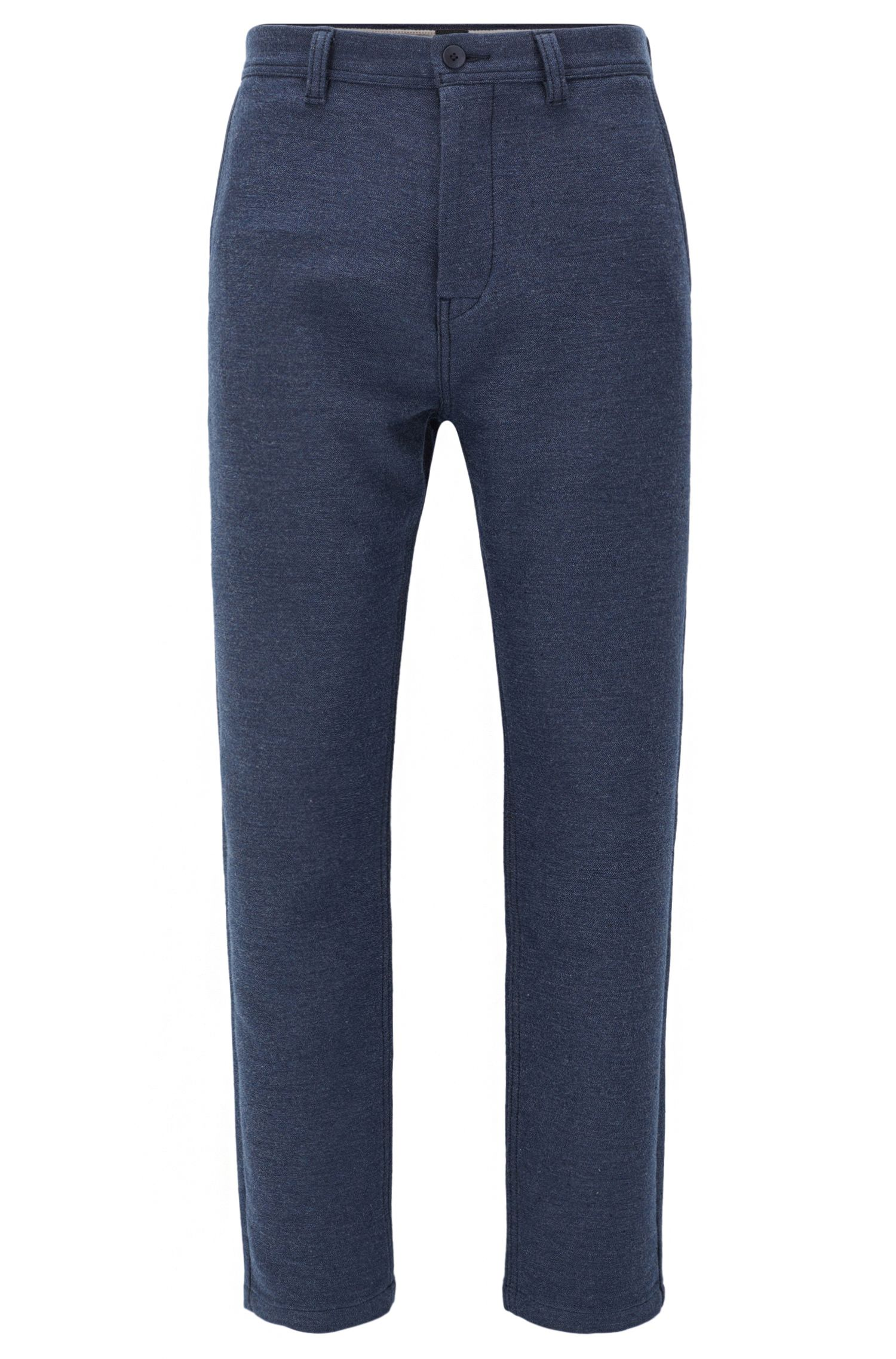 Pantalon Tapered Fit en coton mélangé