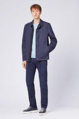 Shirt Teint T En Coton Pièce Fit Regular UzLMSVGqp