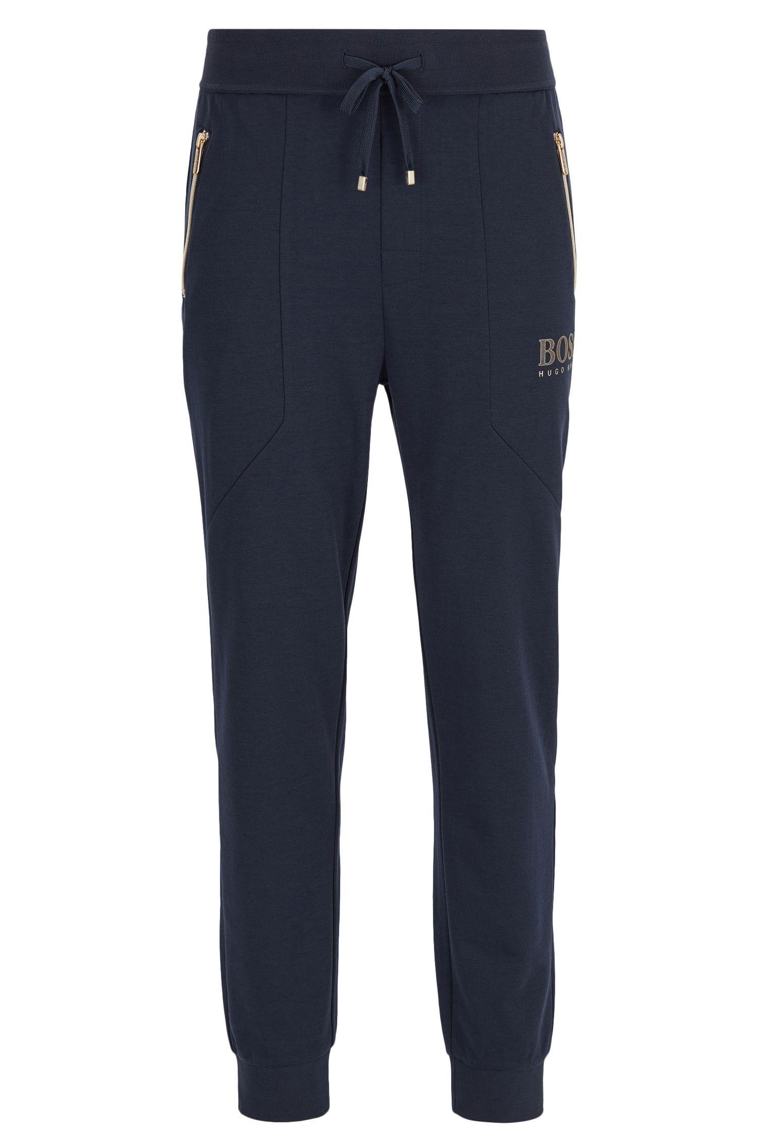 Pantalones loungewear en mezcla de algodón