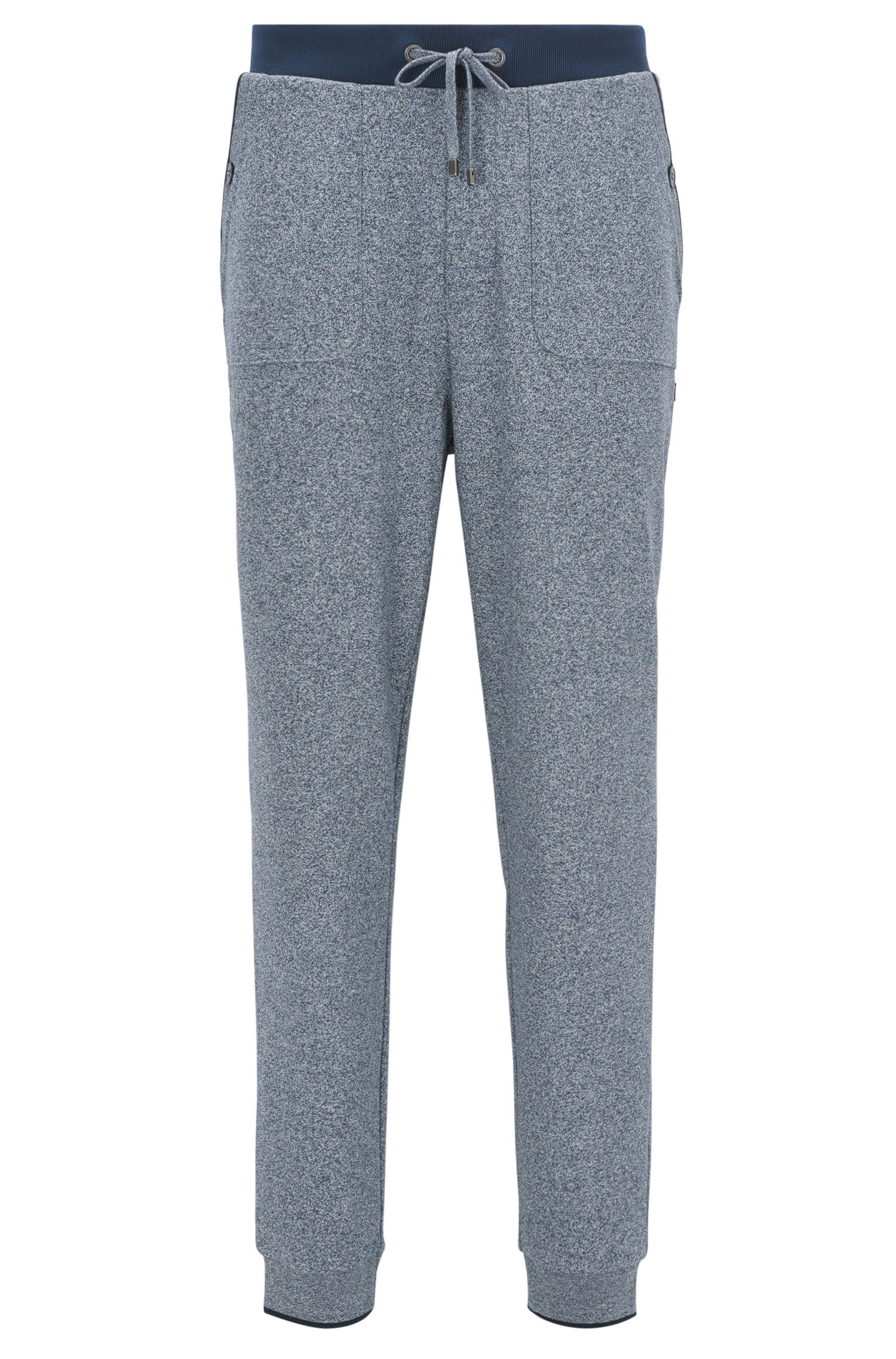 Loungewear trousers in a cotton blend