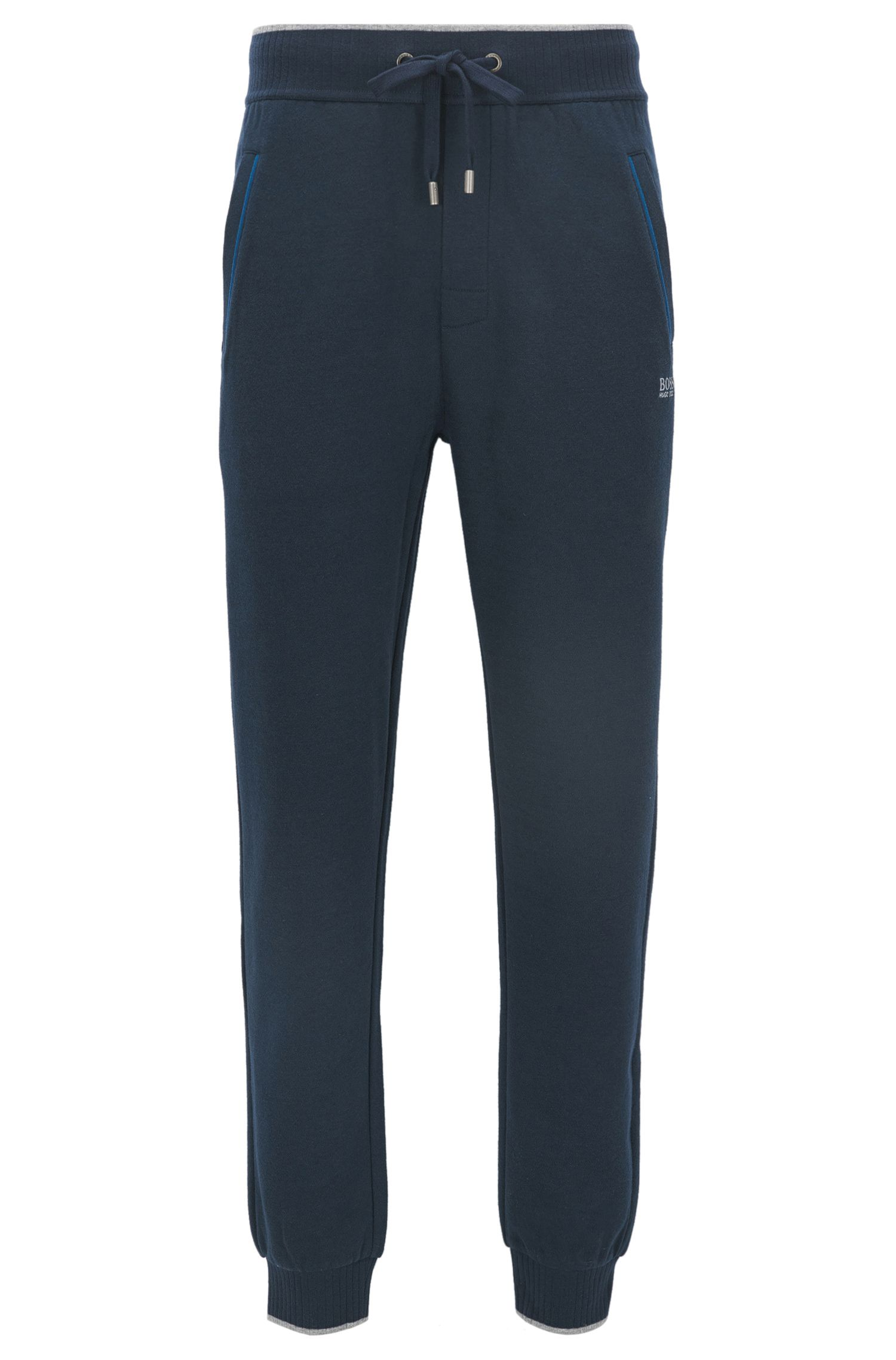 Pantalon de jogging en French Terry de coton mélangé