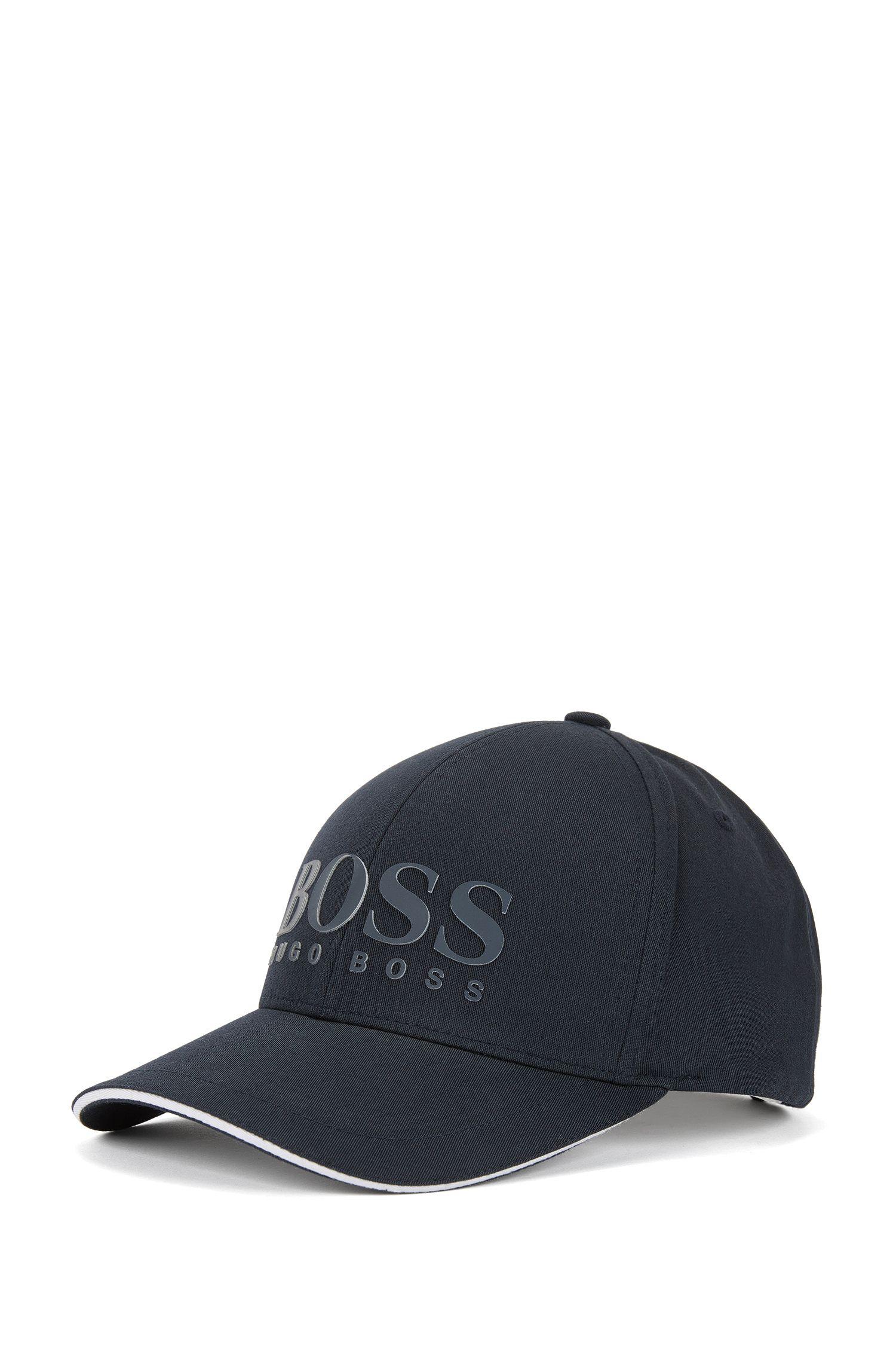Baseball Cap aus Baumwoll-Mix mit Logo