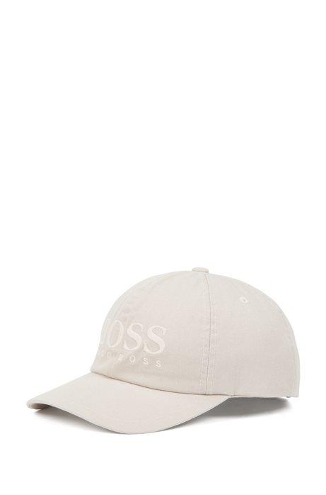 Logo baseball cap in cotton twill. Style Fritz - 50378282 e5729d218128