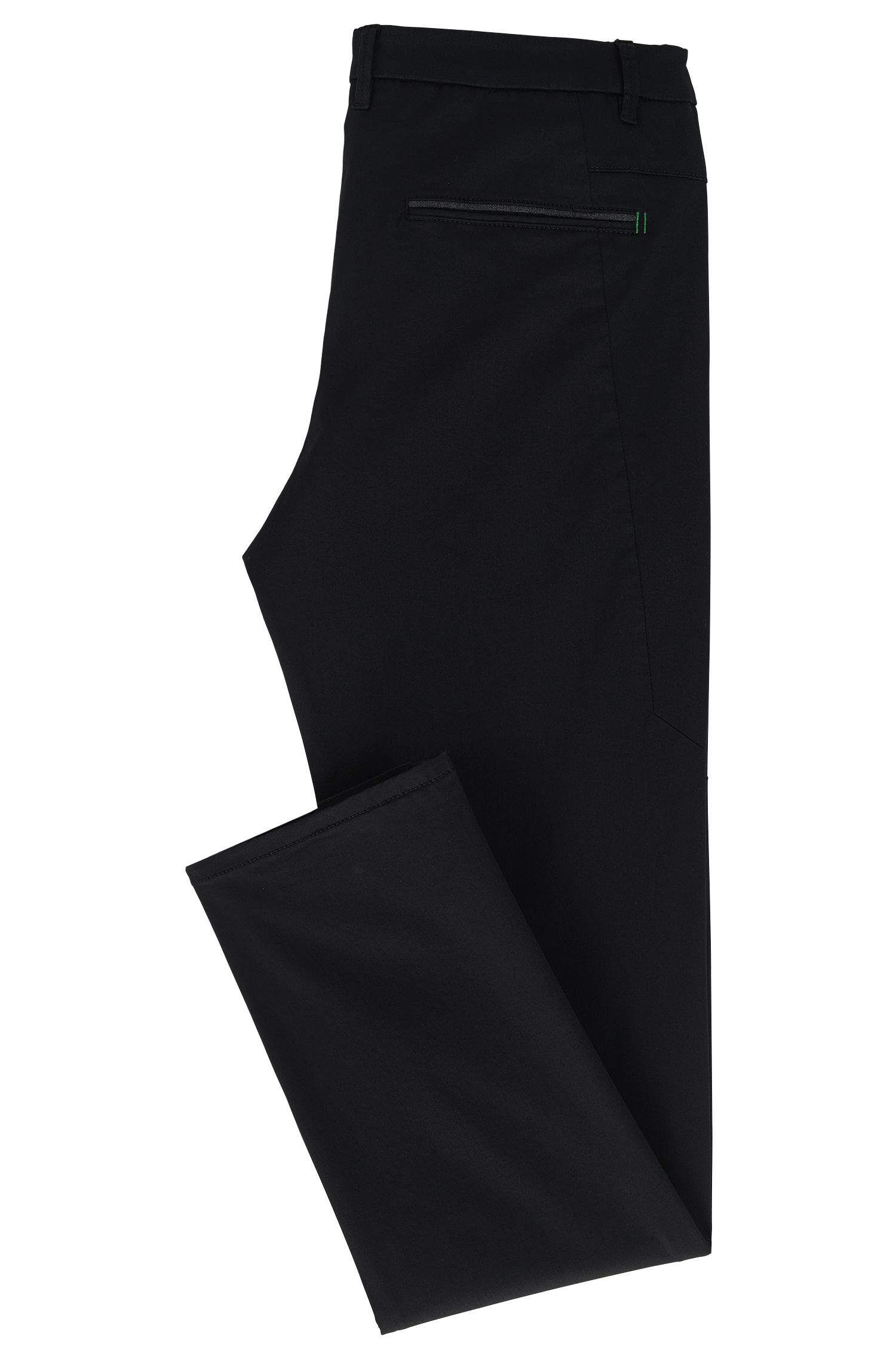 Chino Regular Fit stretch à la finition satinée